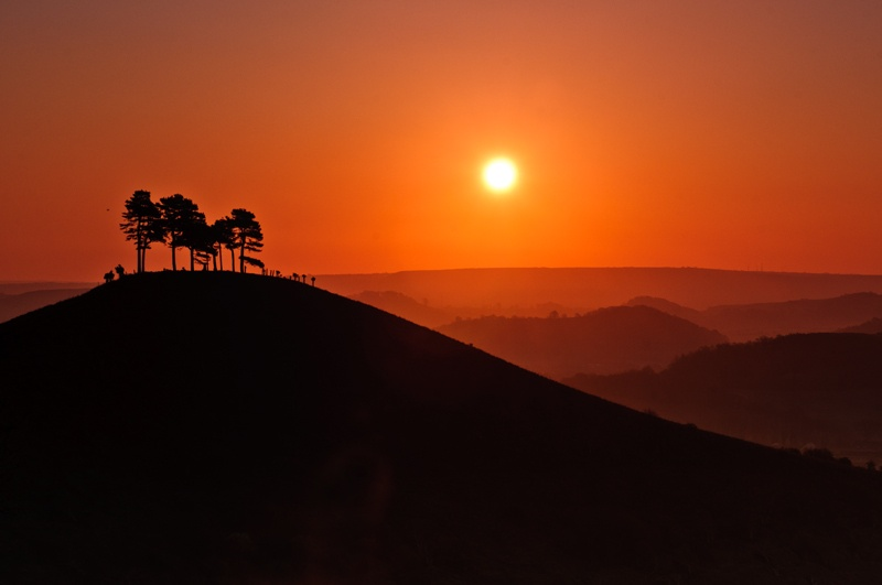 Sunrise over Colmer Hill by Andy_H