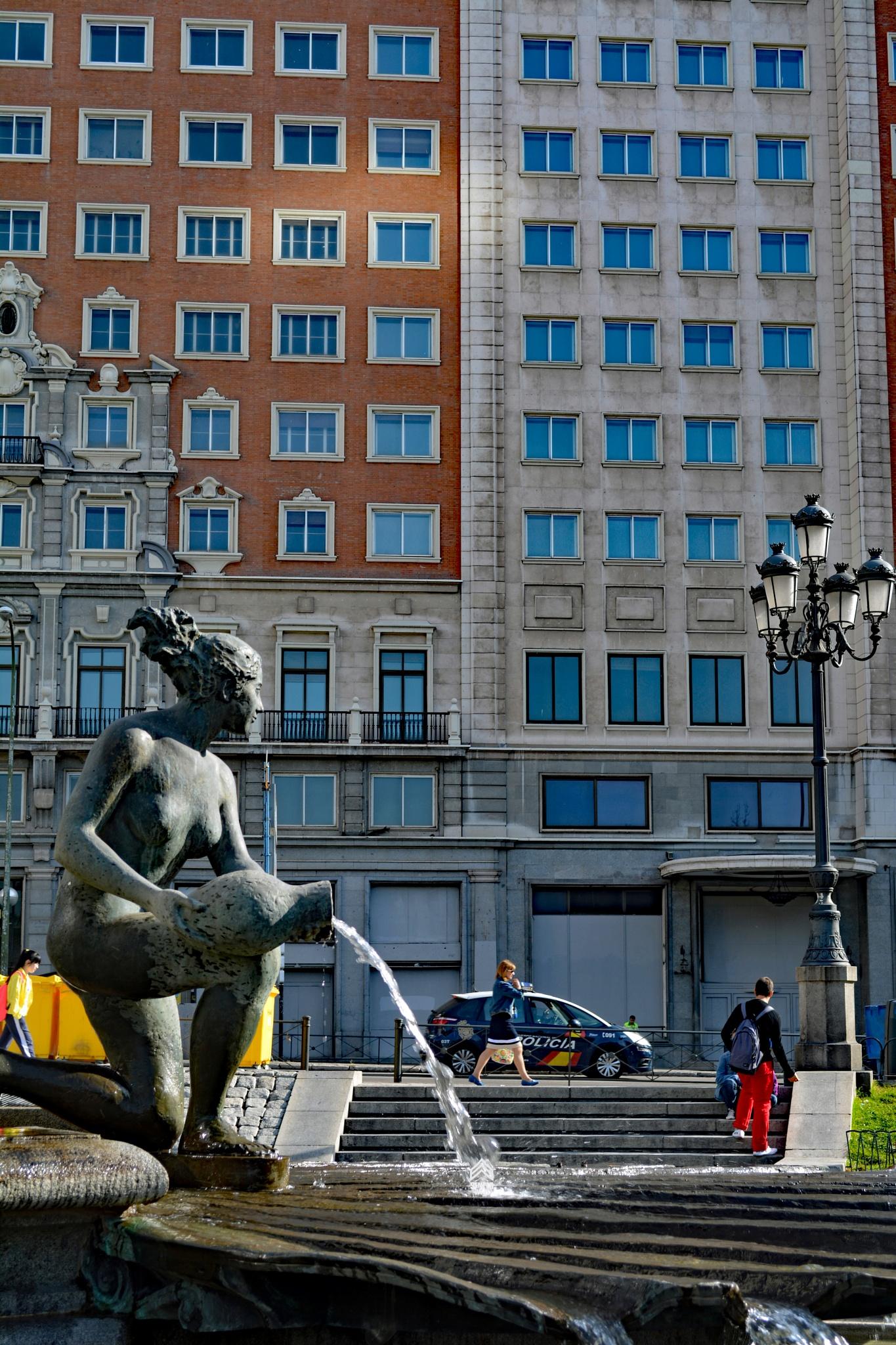 Plaza de España en Madrid by semperwifi