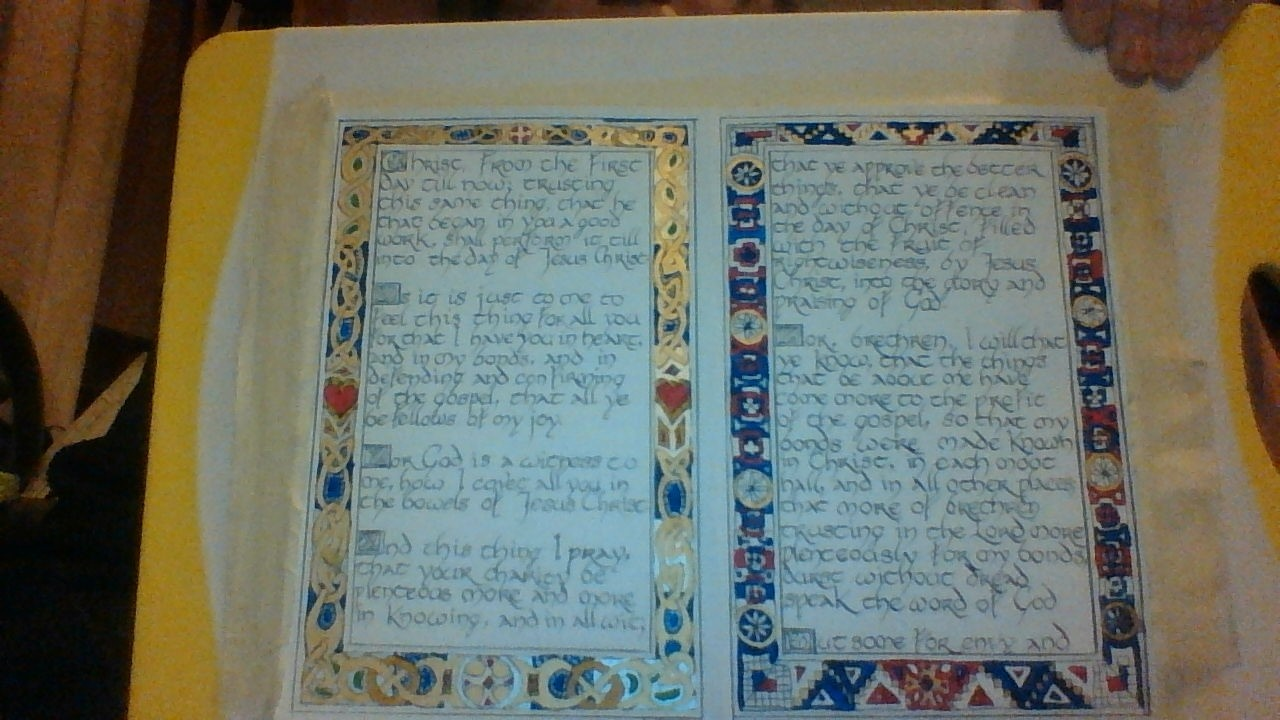 Celtic calligraphy by remelrose1