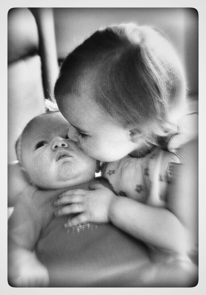 Sisterly love  by Leslie Beasley