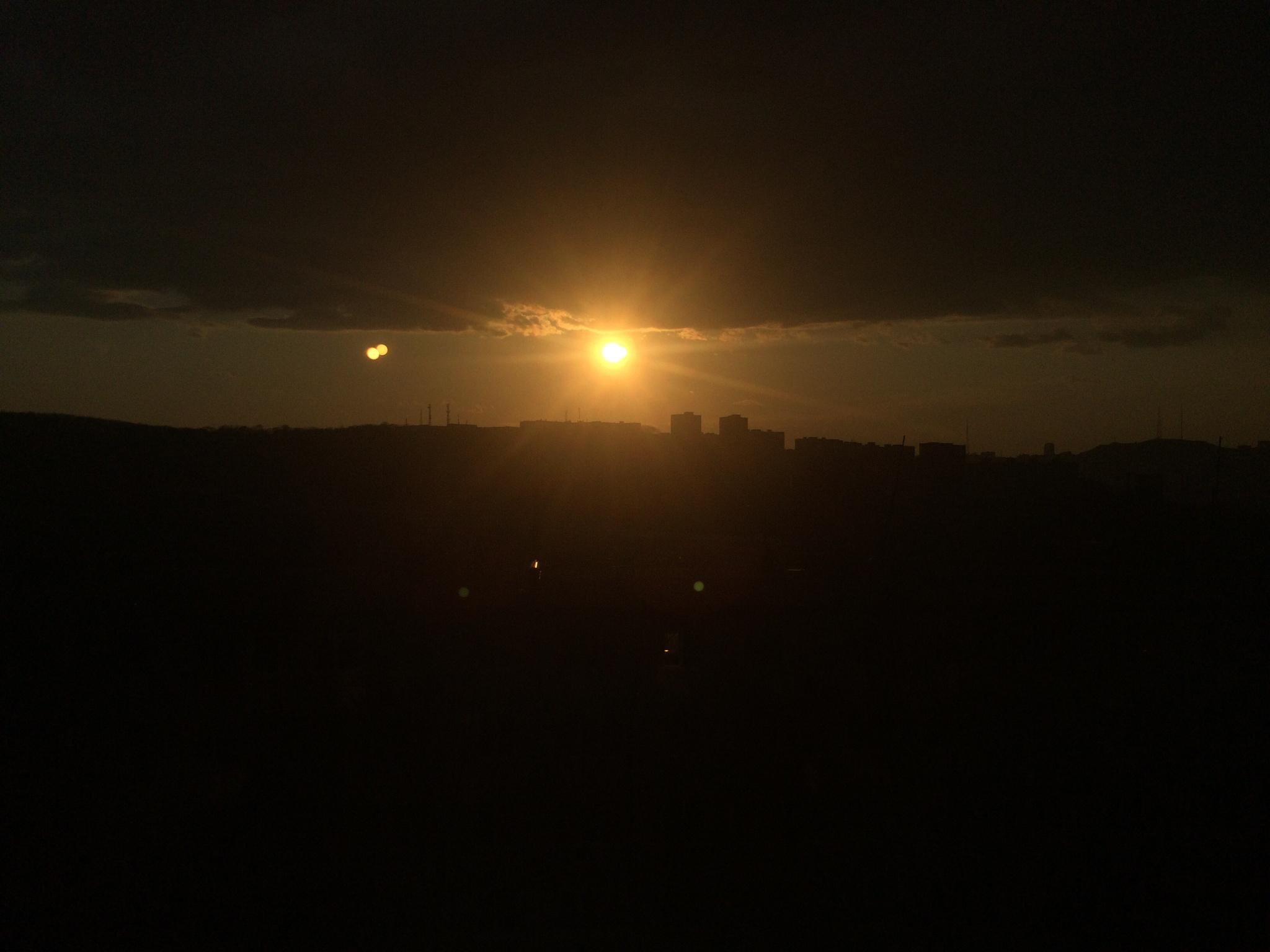 Sunset  by Martin Blum