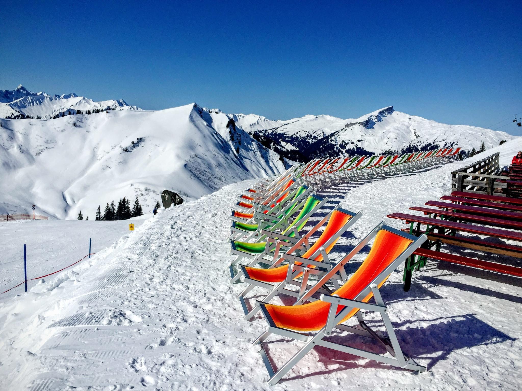 Please take a seat  by Pension Gatterhof Kleinwalsertal