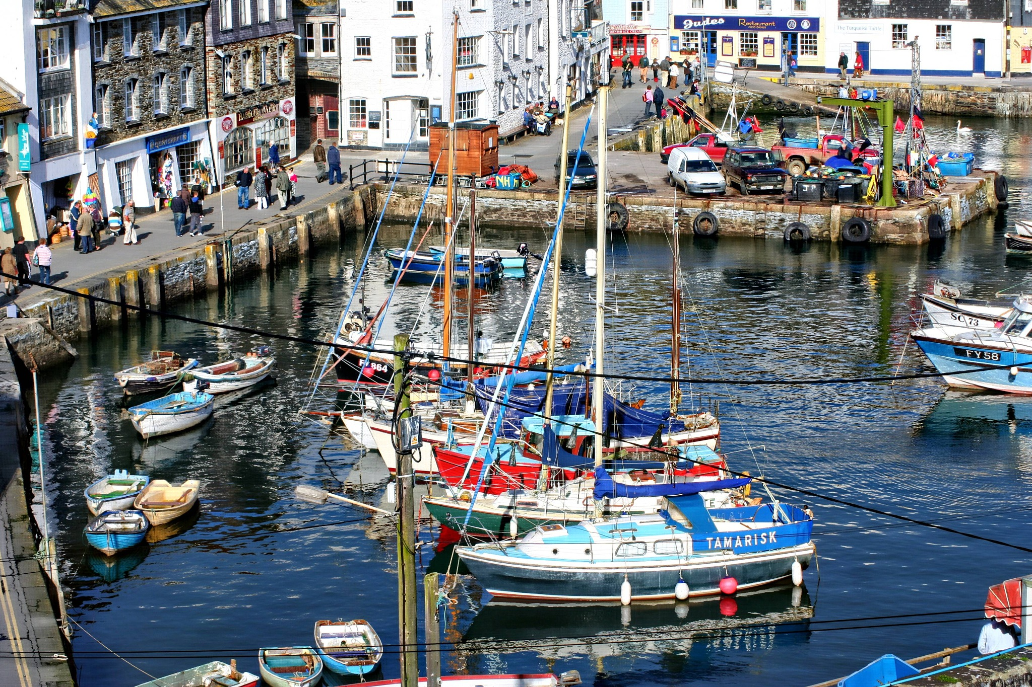 inner harbour ,mevagissey by Paul Gast