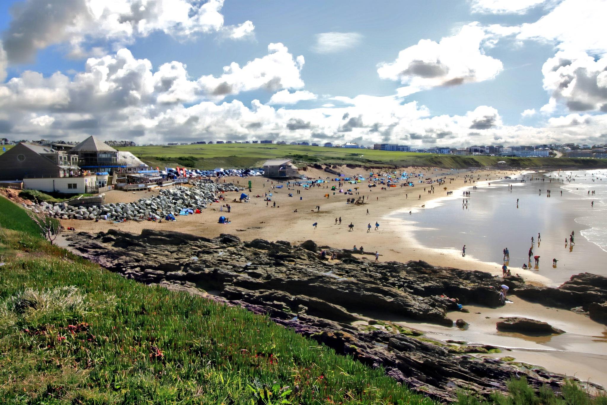 Fistral beach. by Paul Gast