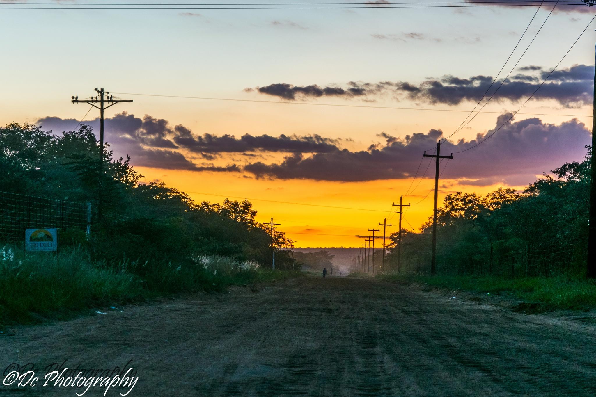 Sunset by Dusky De Reuck