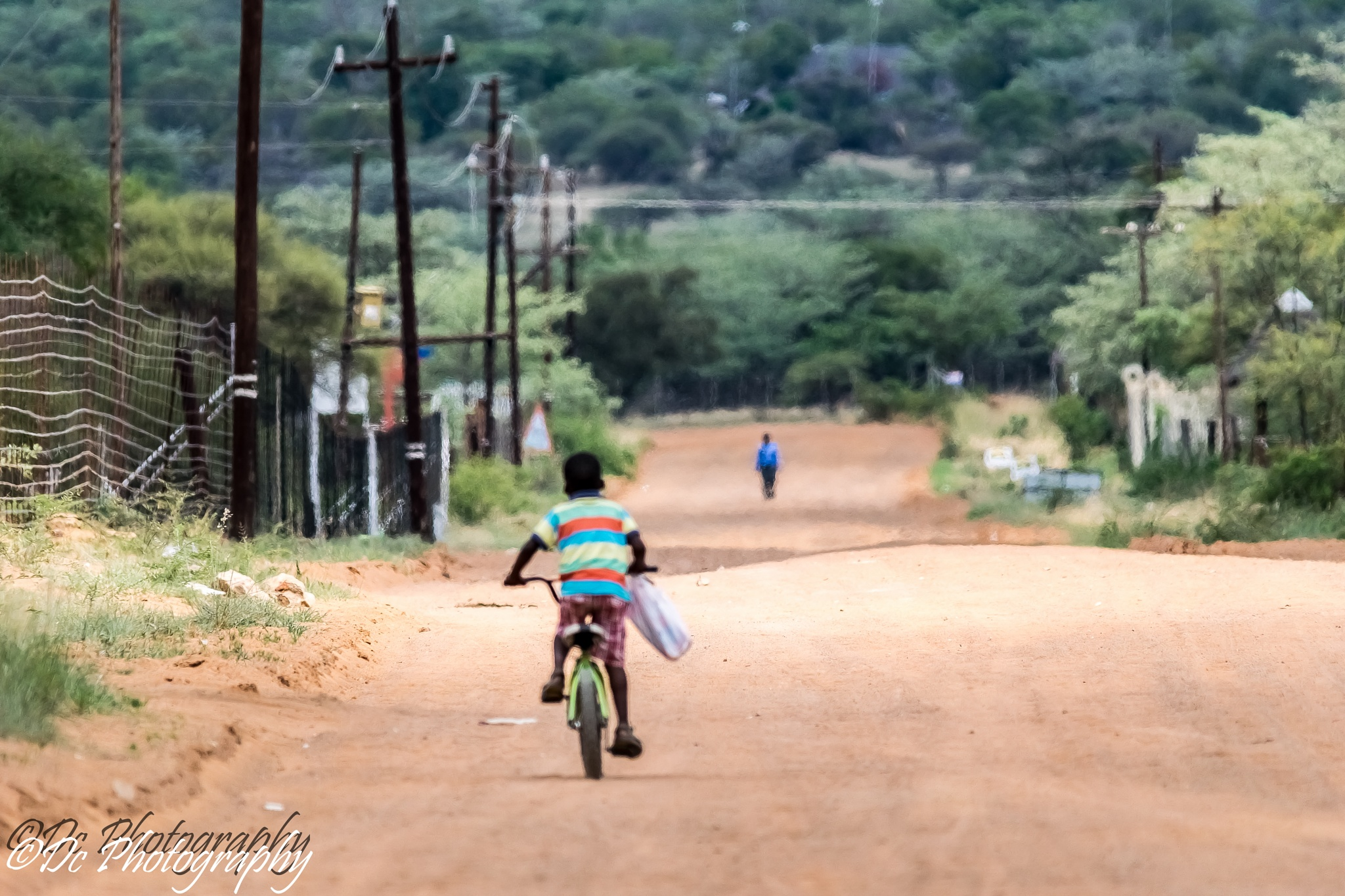 Bicycle Boy by Dusky De Reuck