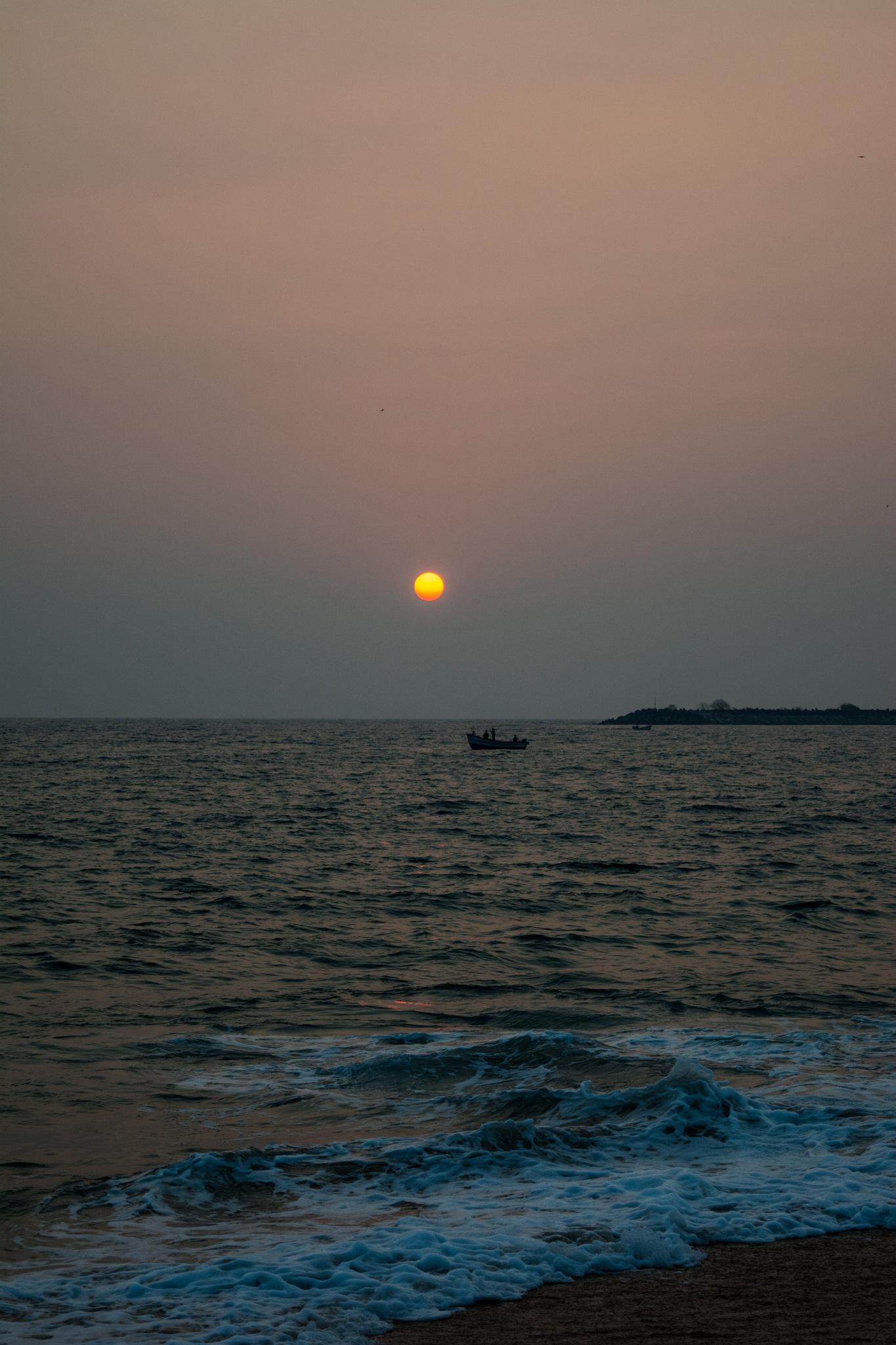 Sunset again by Nishanth N
