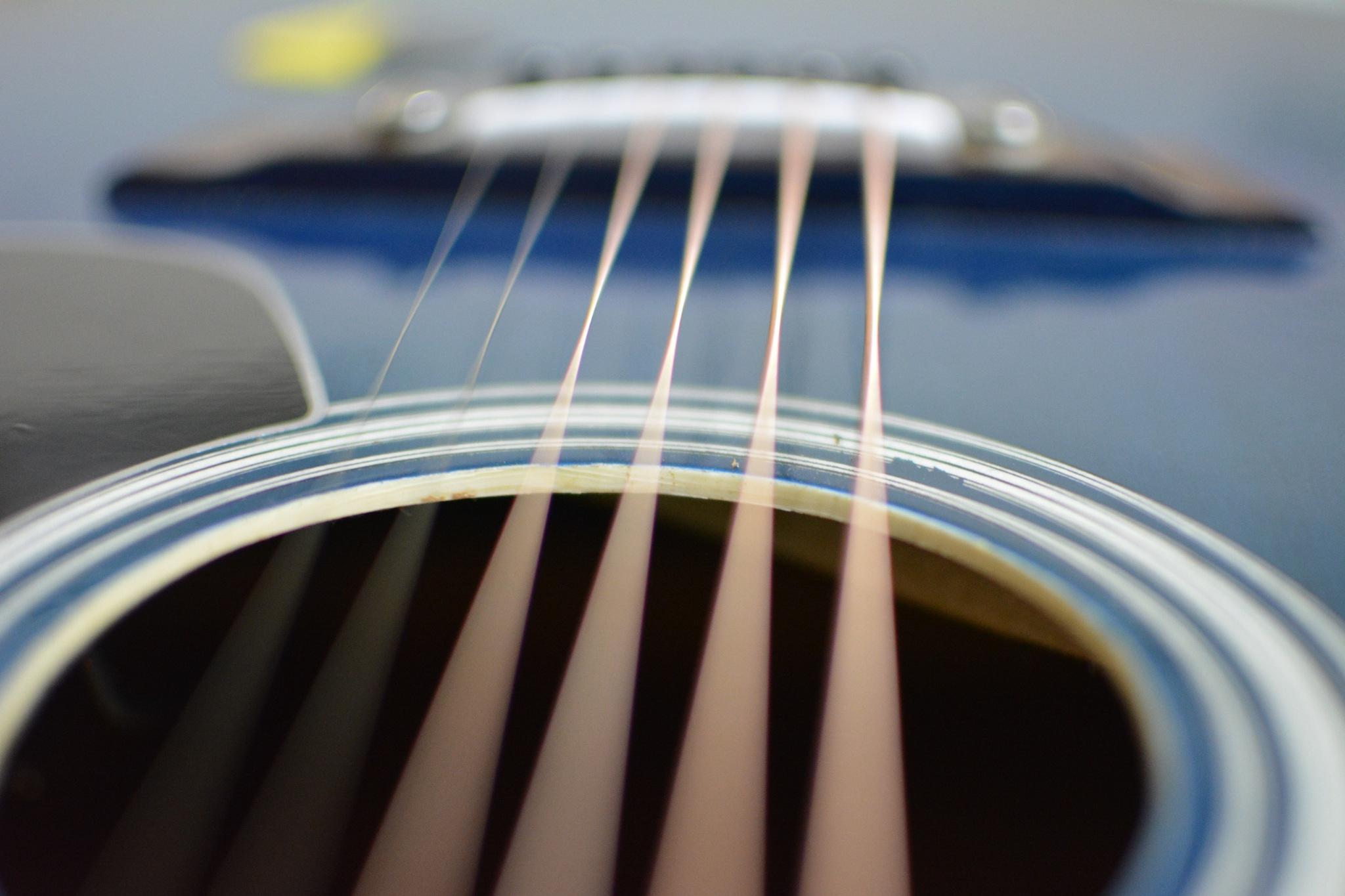 Guitar Strings by Nishanth N