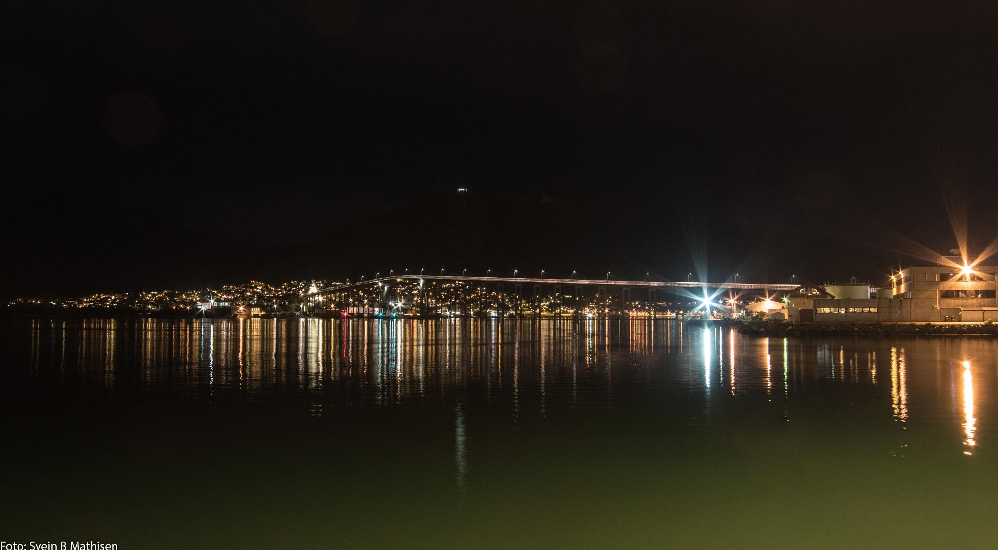 Tromso bridge by SveinBorre