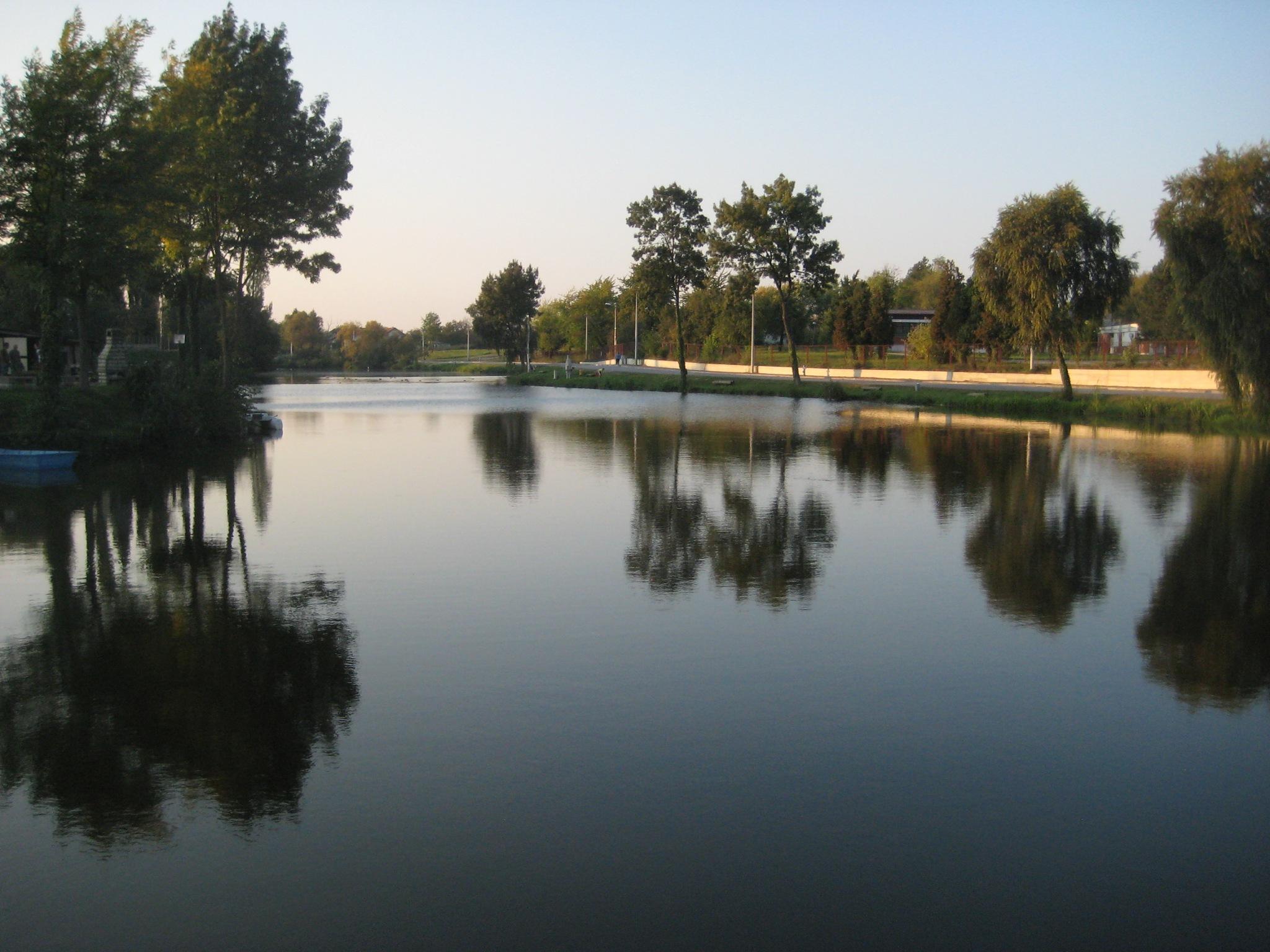 a lake by Mihaela L