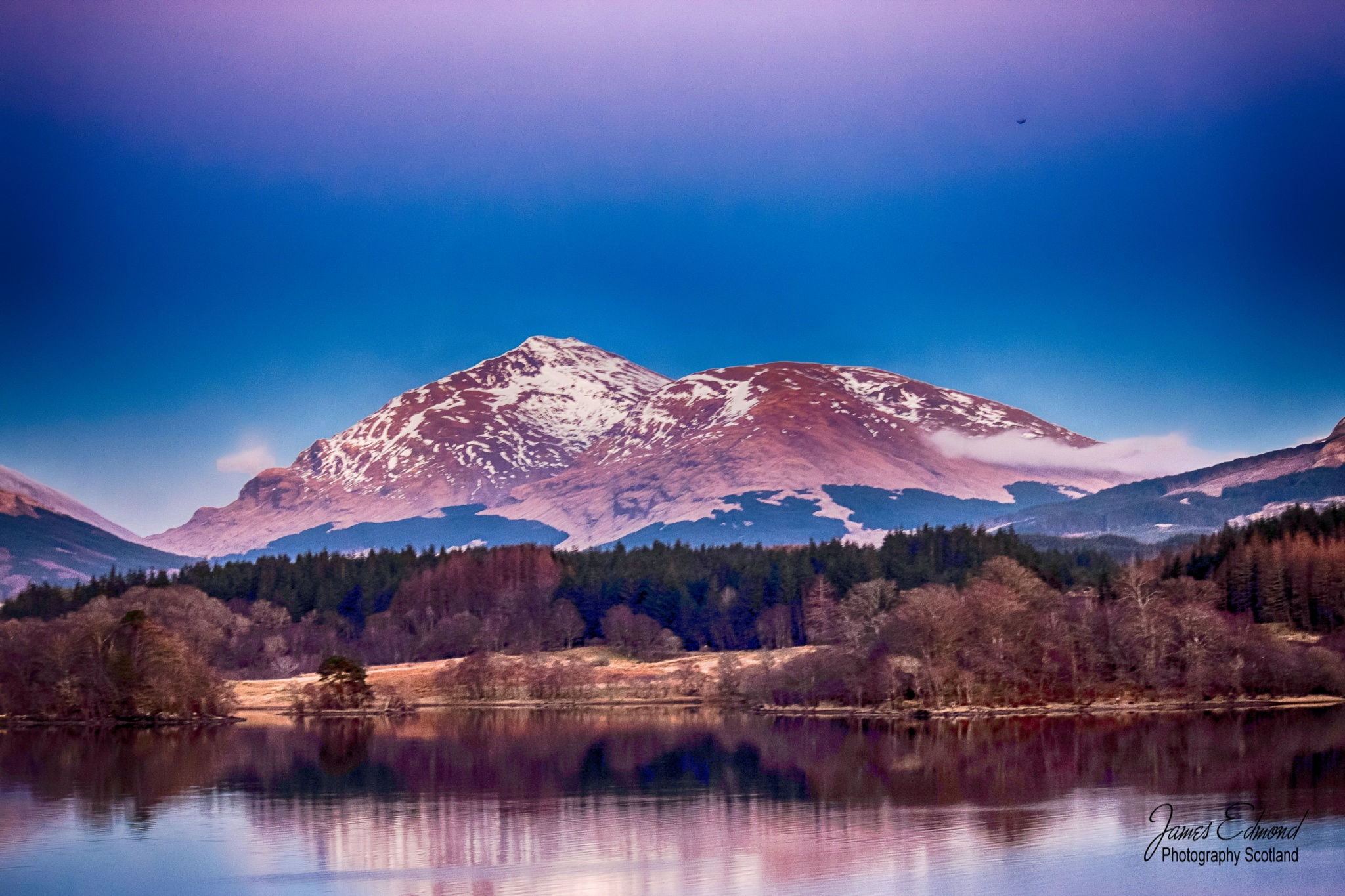 Loch Awe in Springtime by James Edmond Photography