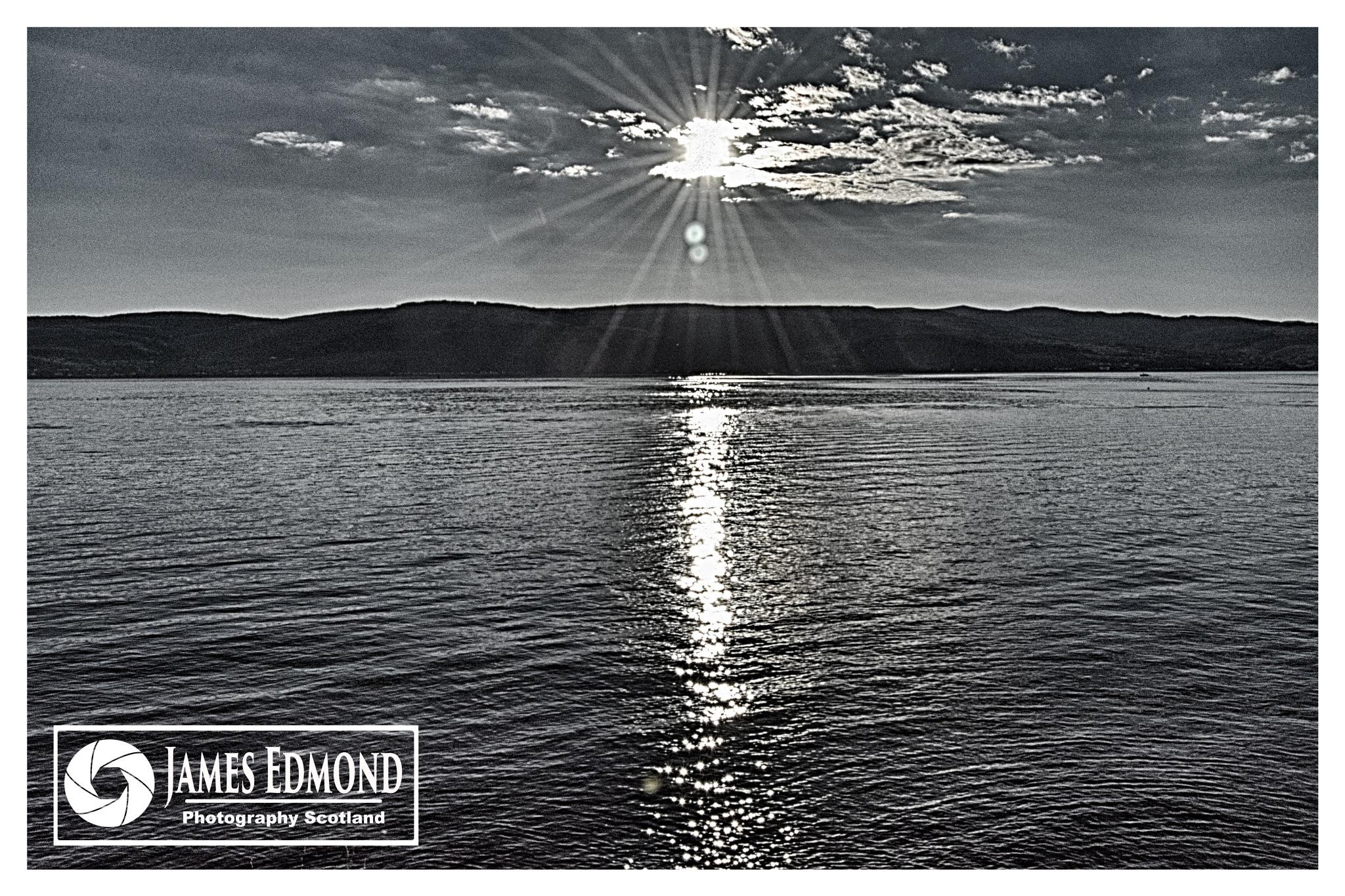 Sunset at Inverkip by James Edmond Photography