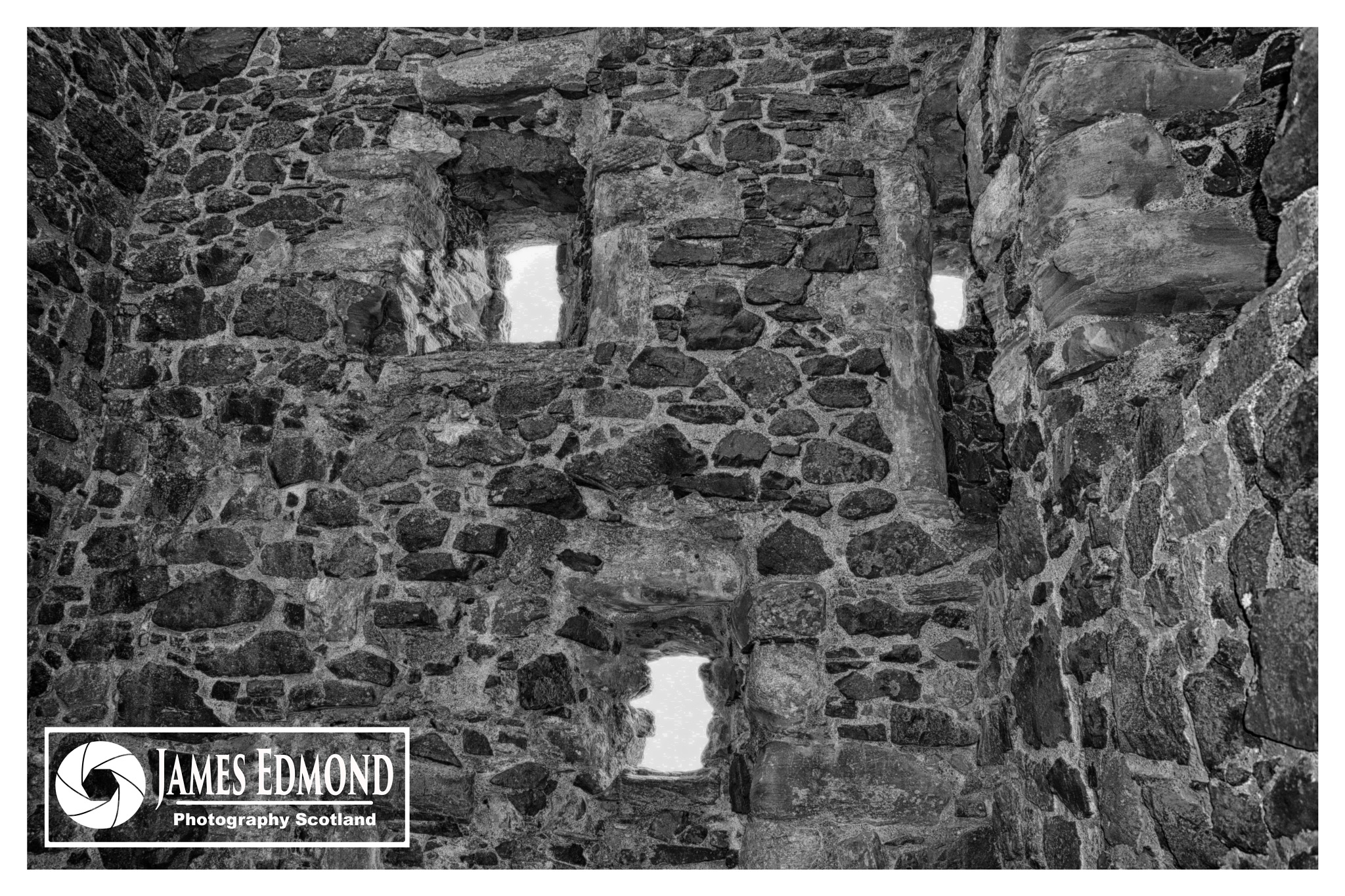 Ruins by James Edmond Photography