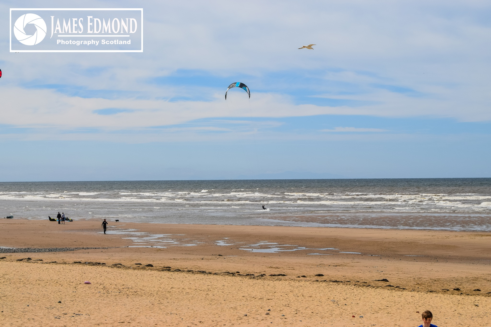 St Annes Beach nr Blackpool by James Edmond Photography