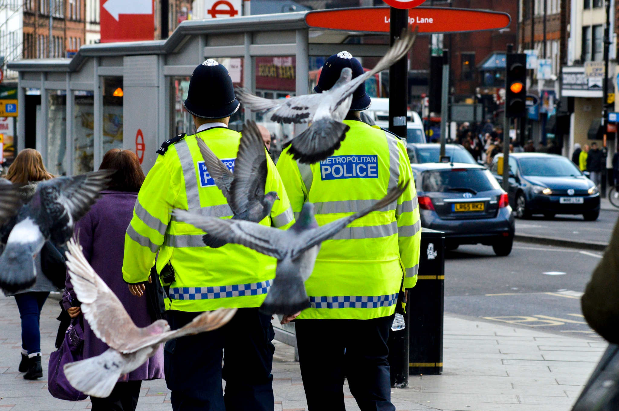 police man by Rotaru Dan