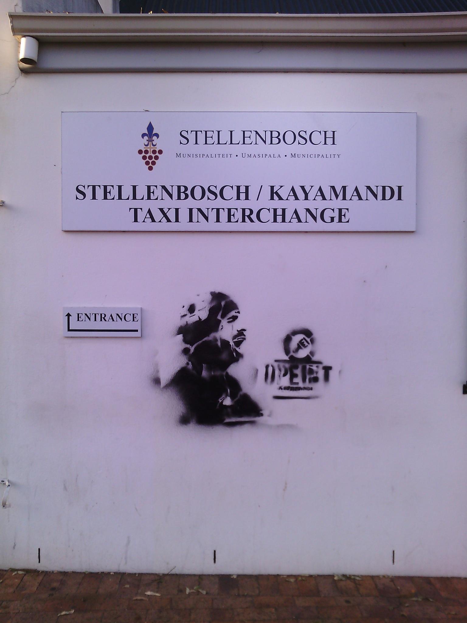 Street Art - Stellenbosch by shantellelottering