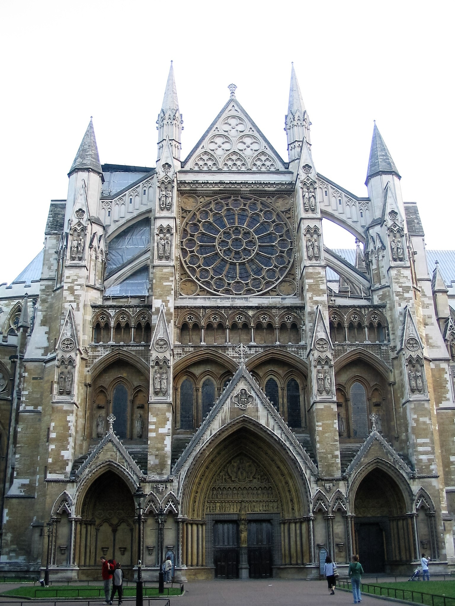 Westminster Abbey. by Karen Brooks