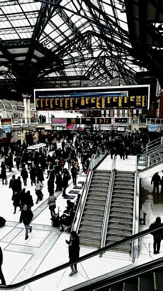 Liverpool St. station London. by Little Red