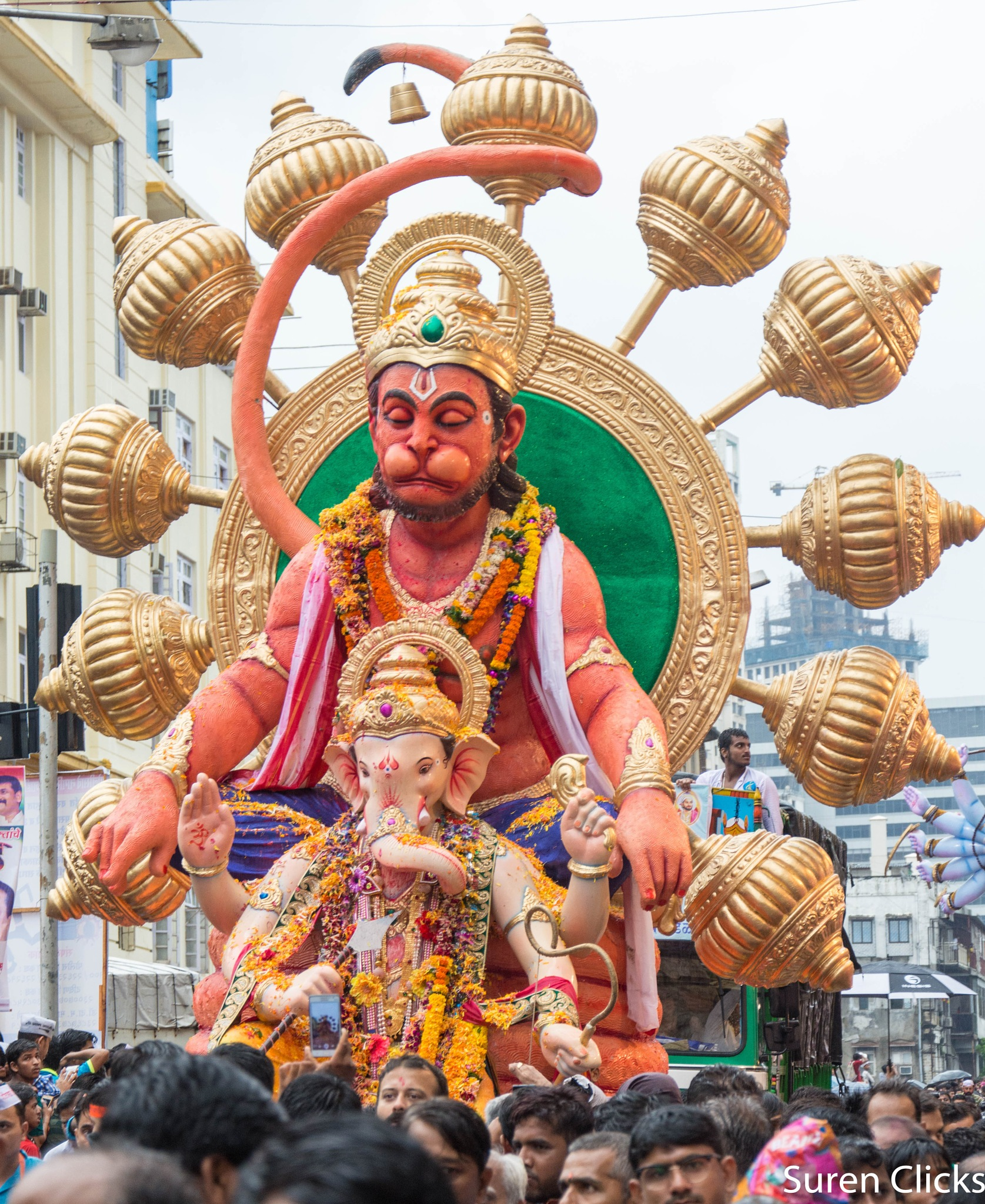 गणपति बप्पा मोरया , अगले बरस तु जल्दी आ. Some clicks at Girgaon Chowpatty  by Surendra Mehta