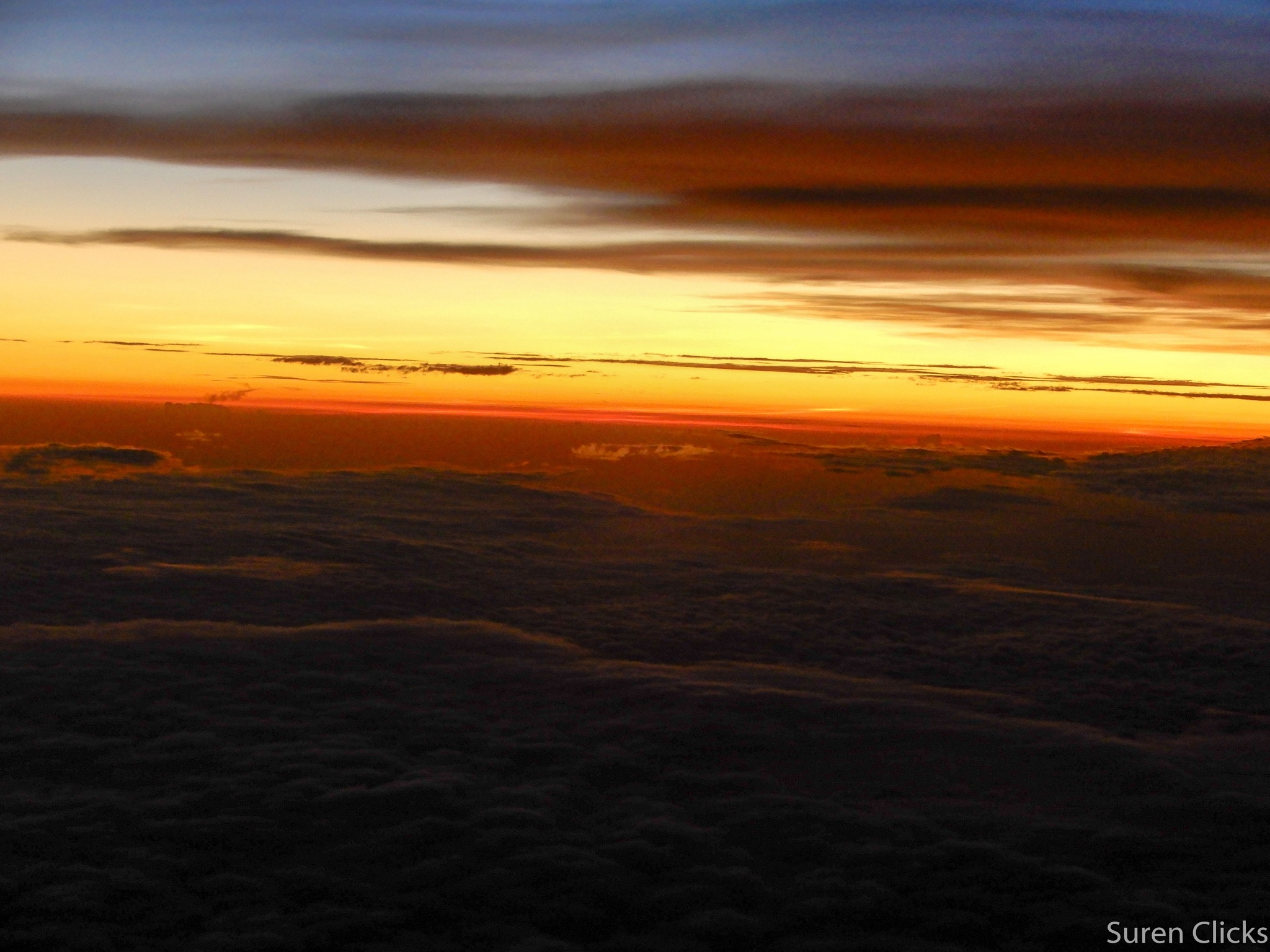 view from sky  by Surendra Mehta