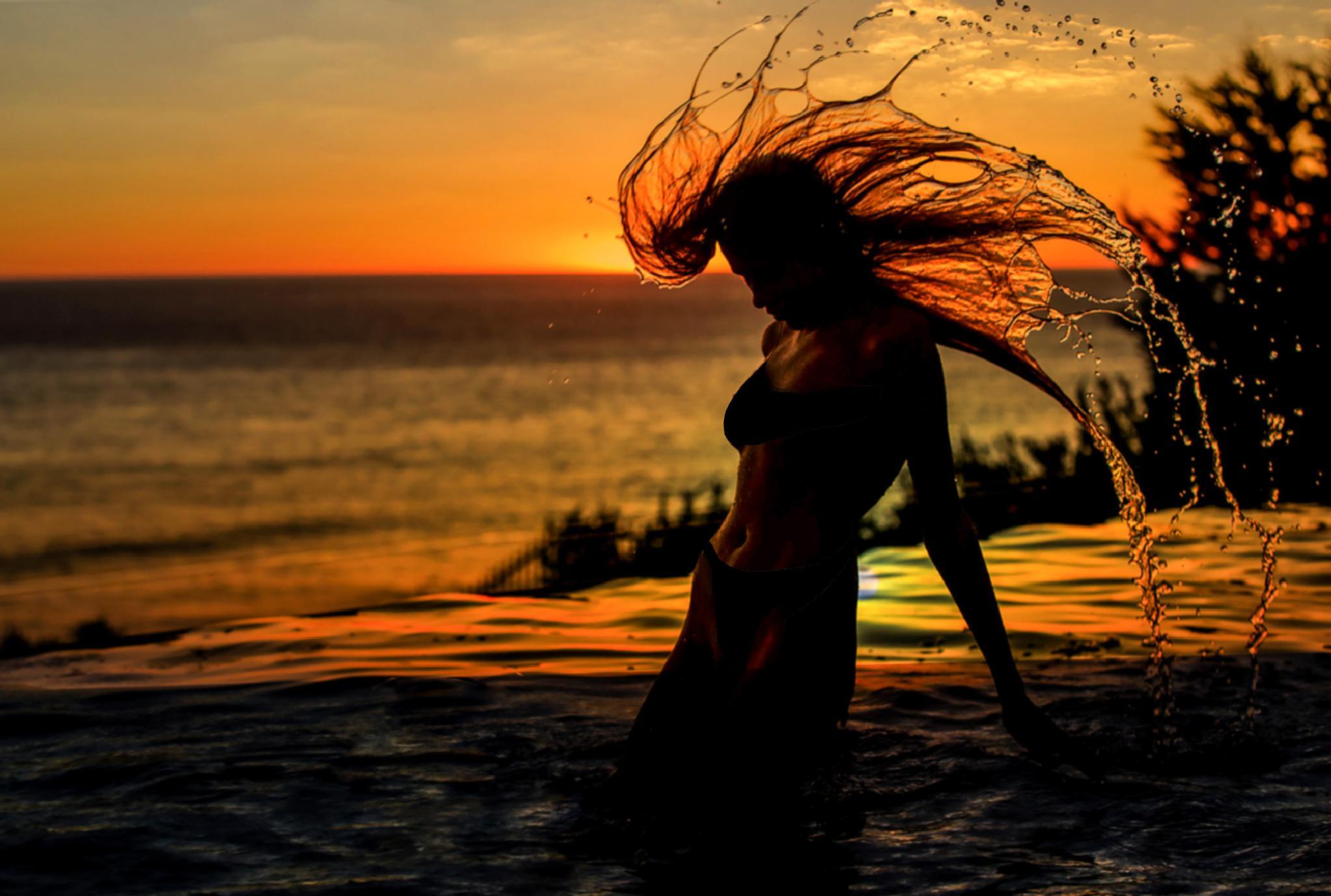 play with sunset2 by Ahmad Safaii
