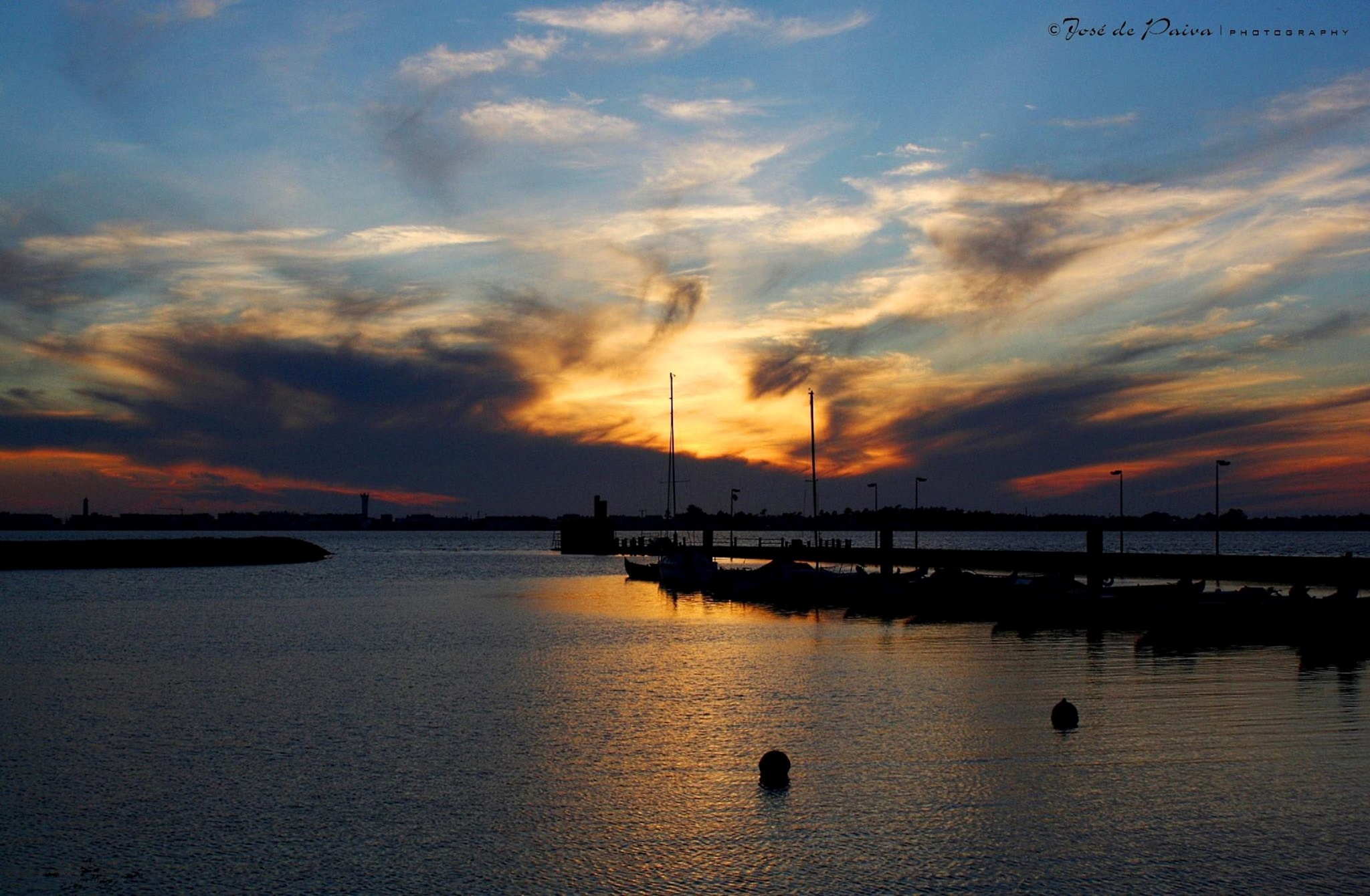 Photo in Landscape #sunset #nature #waterscape #boats