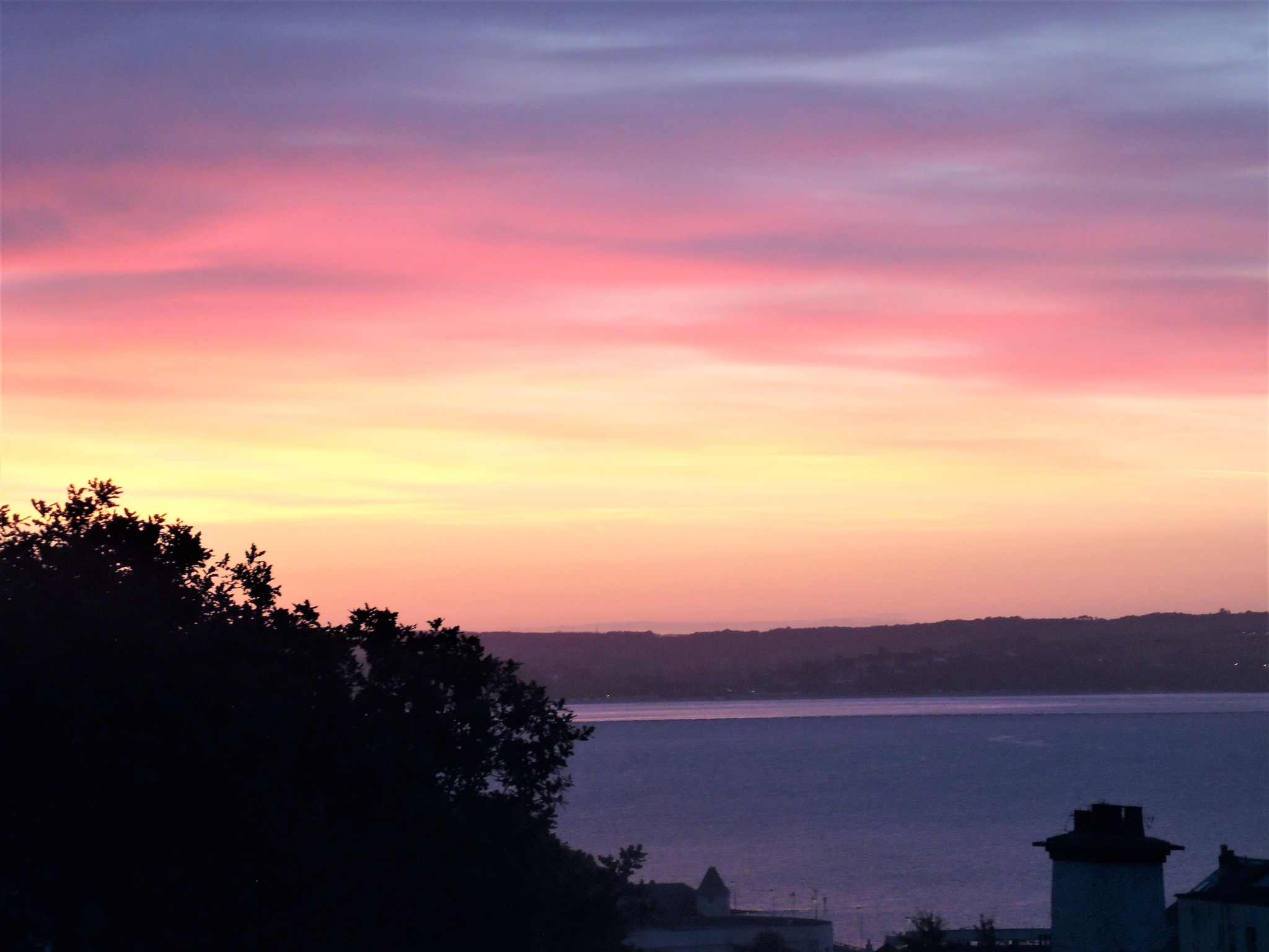 Red sky in the morning Shepherds warning by Sandra Wright