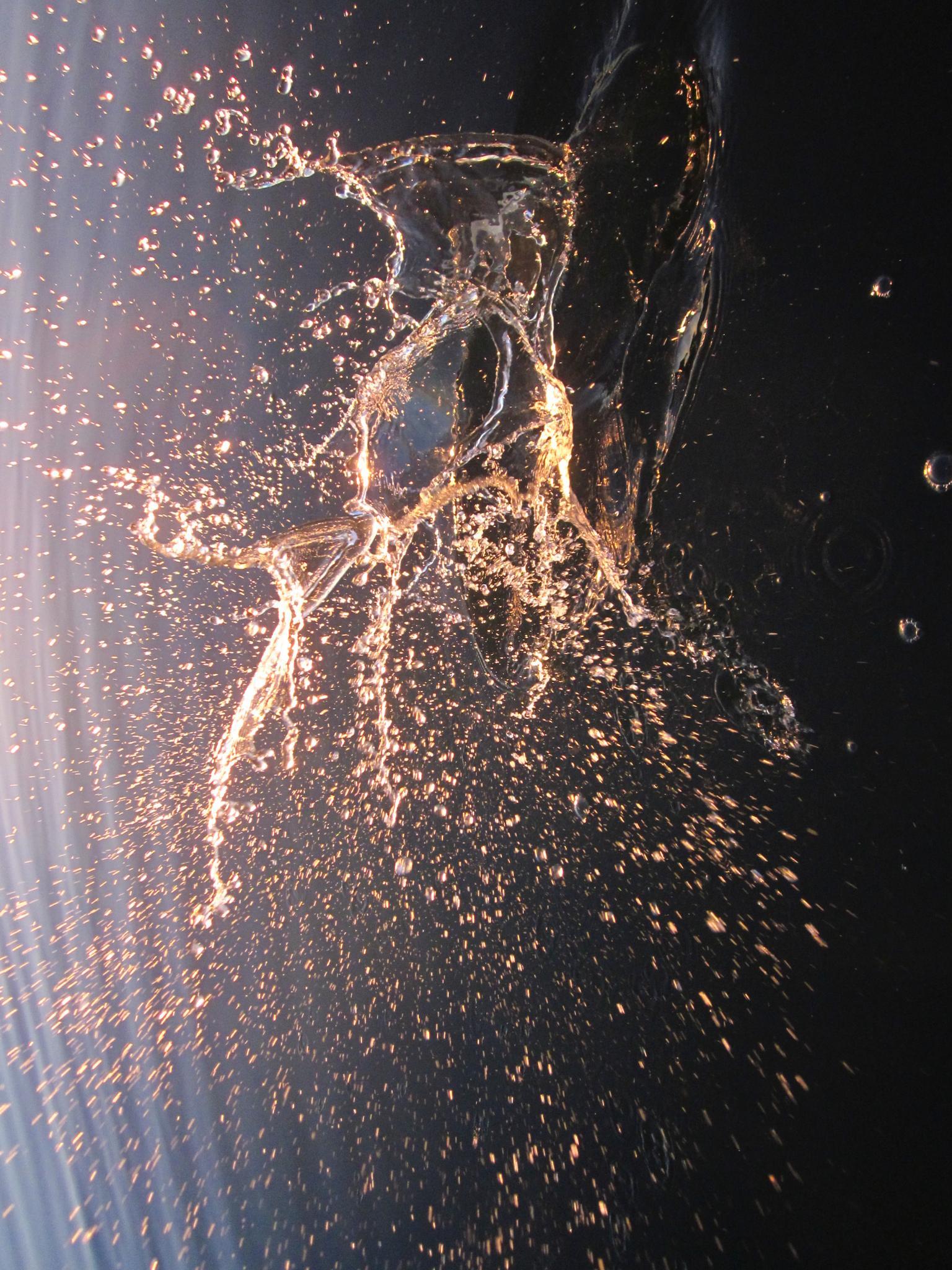 Photo in Fine Art #puddlepix #sea section #wireflare #splashtique #troubled water art