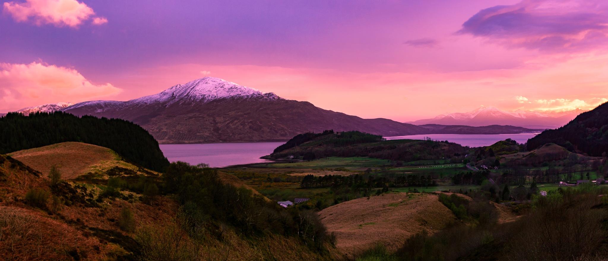 Sunset over Isle of Skye by M i c k e _ H o l m b e r g _ P h o t o g r a p h y