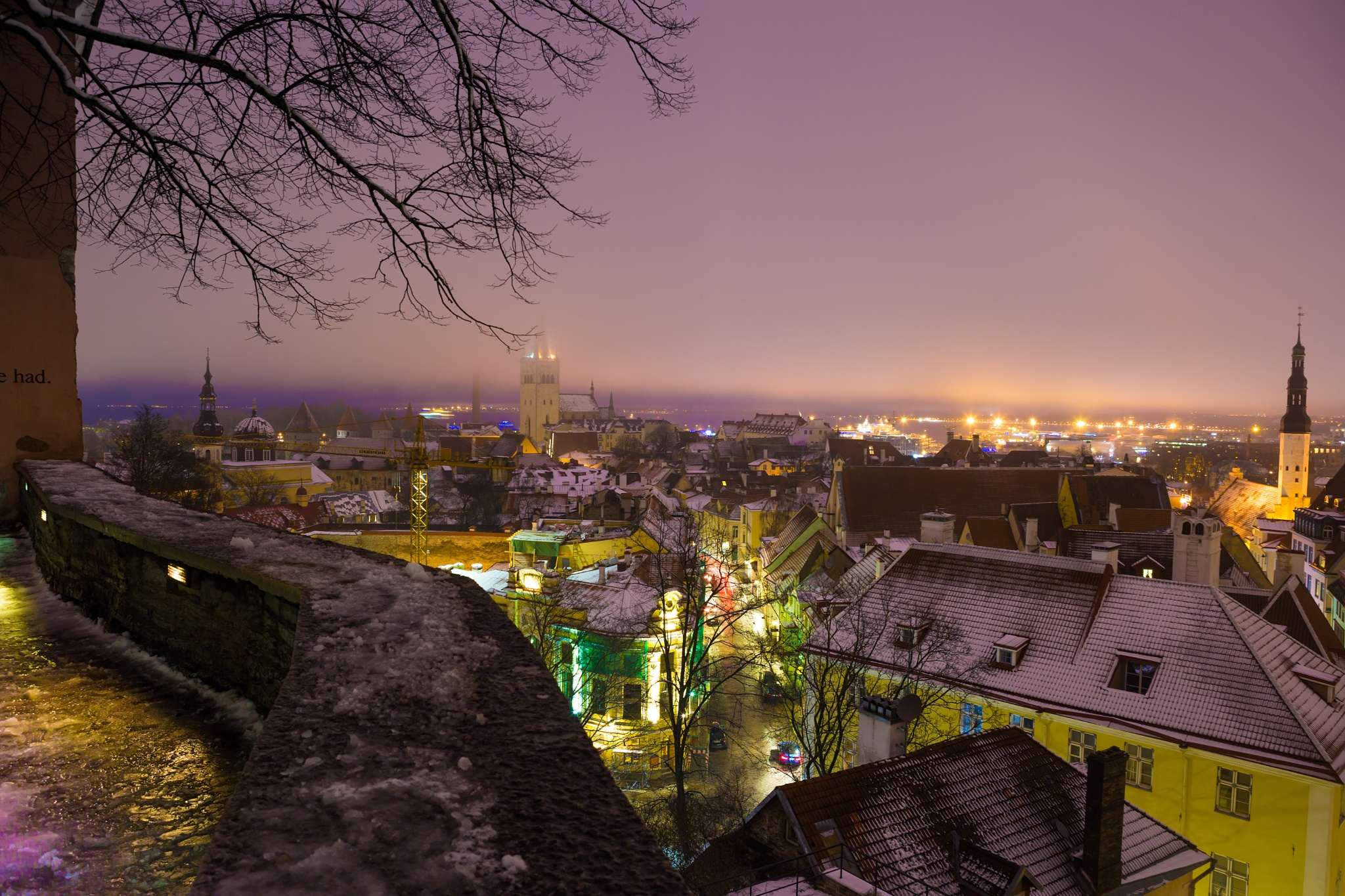 One night in Tallinn by antonburkhan