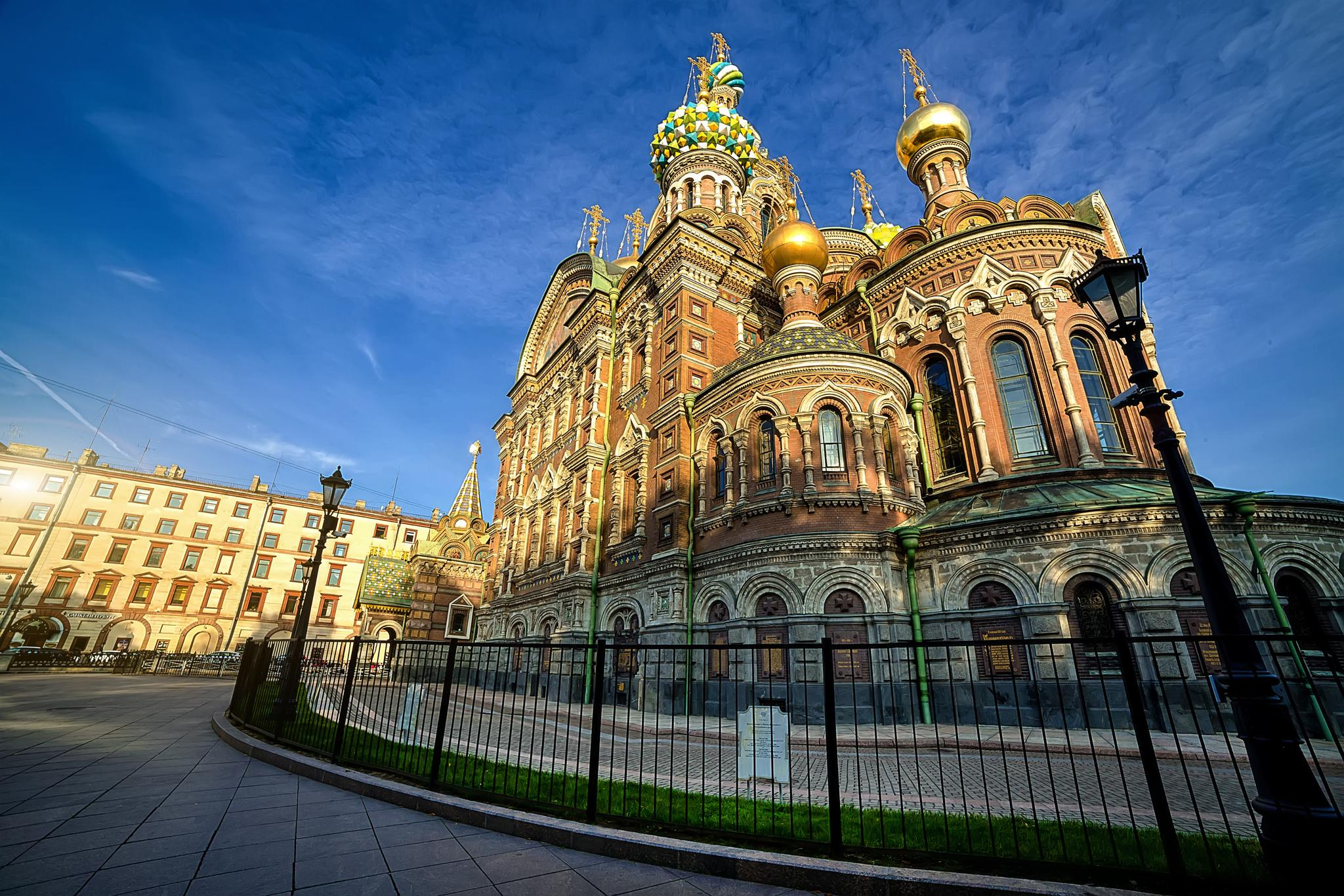 Savior on Blood, Cathederal in Saint-Petersburg by antonburkhan