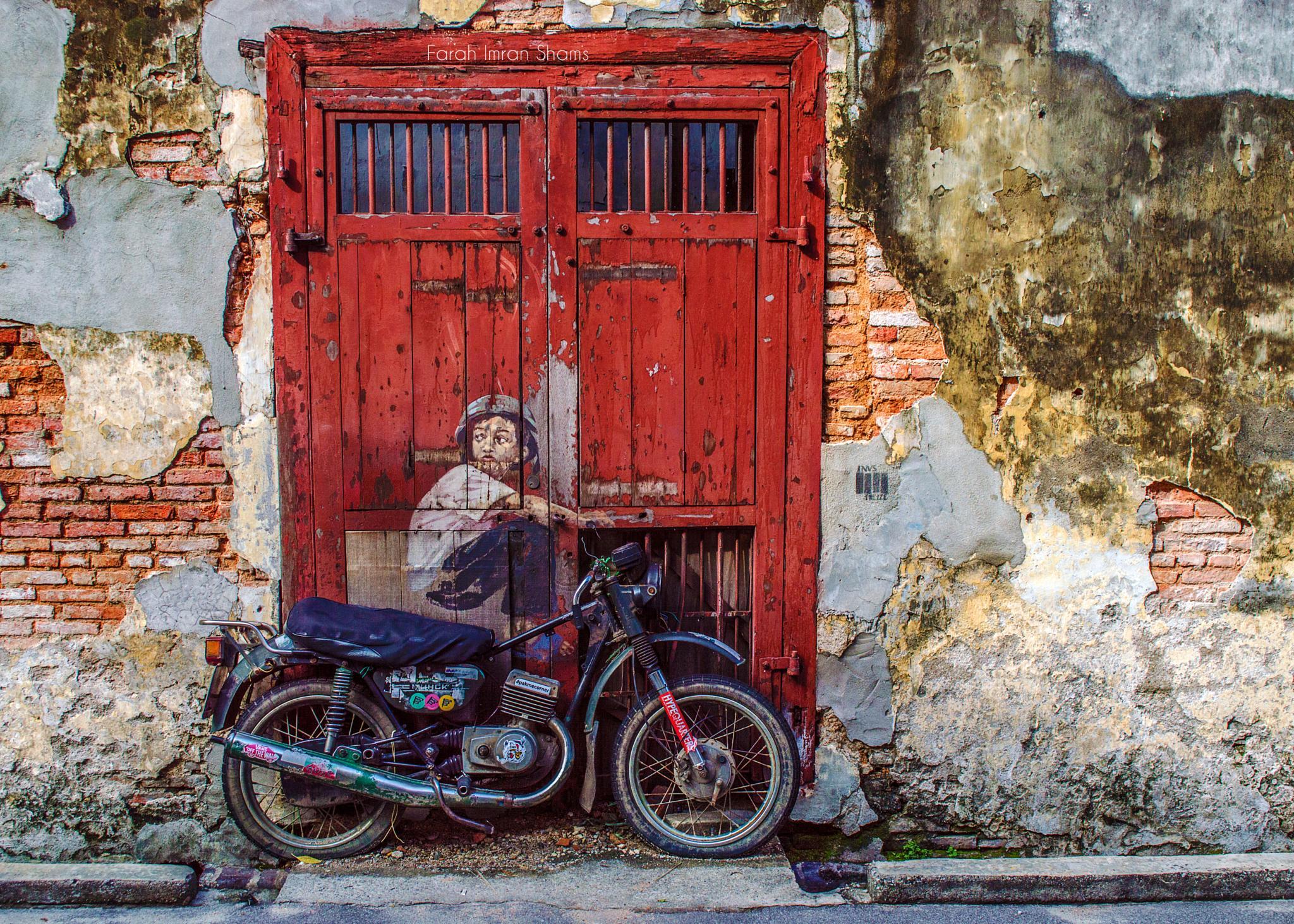 'Boy On A Bike' by Farah Shams
