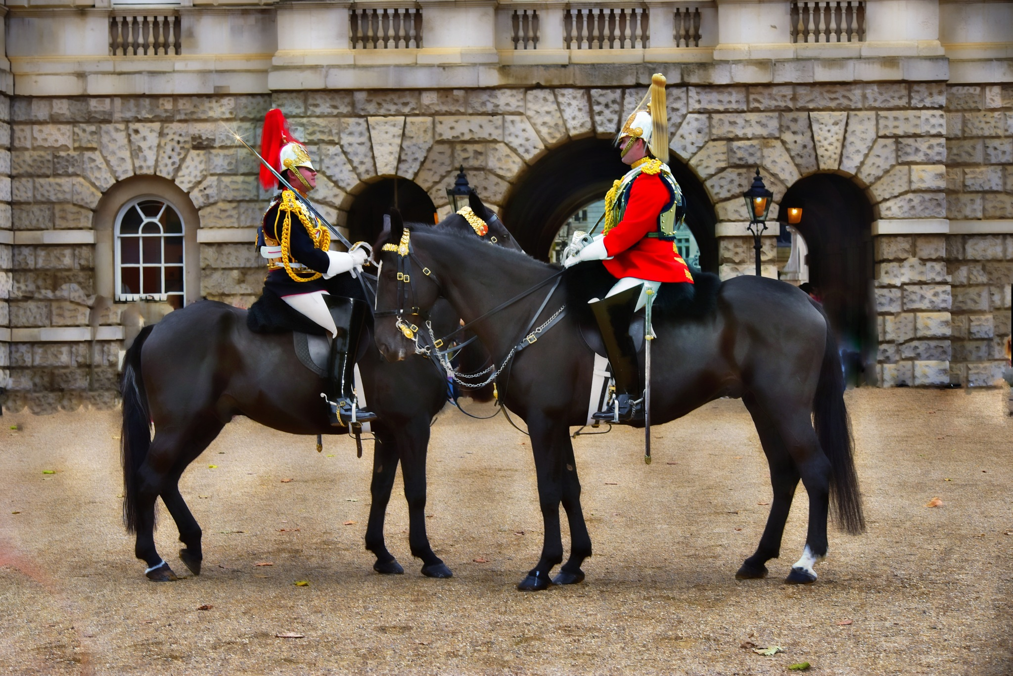 changing of guard, London by VLADKOTLIS