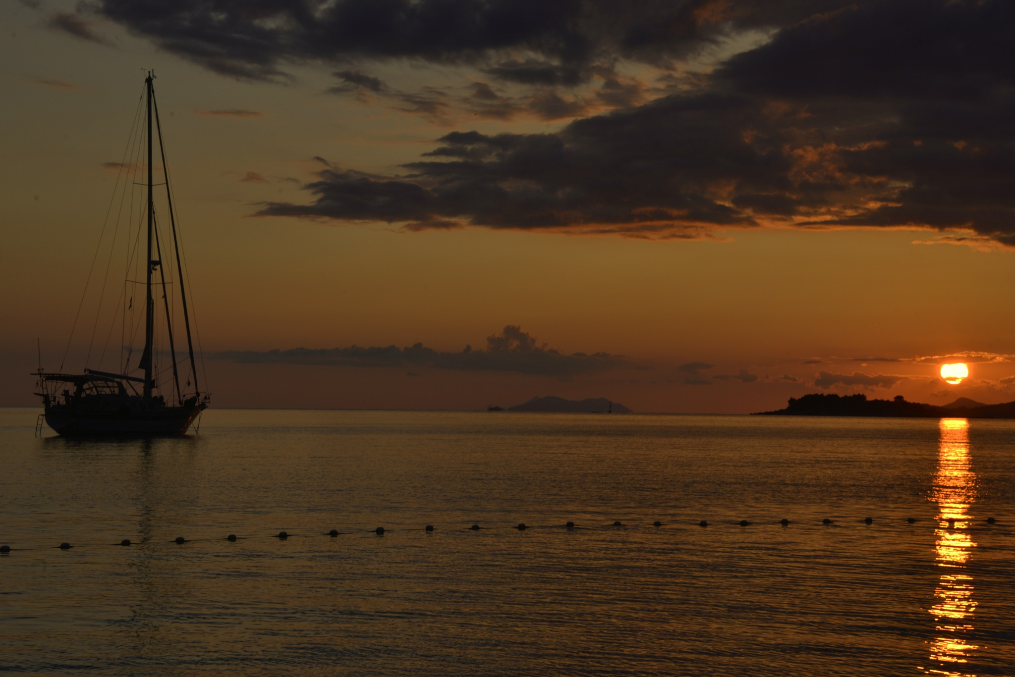 Sunset at Montenegro by Bworks