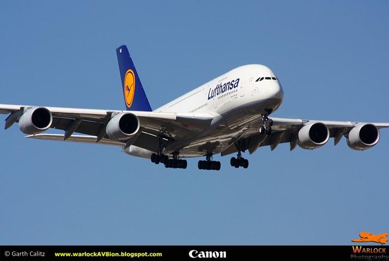 Lufthansa A380 by Warlock Av8ion