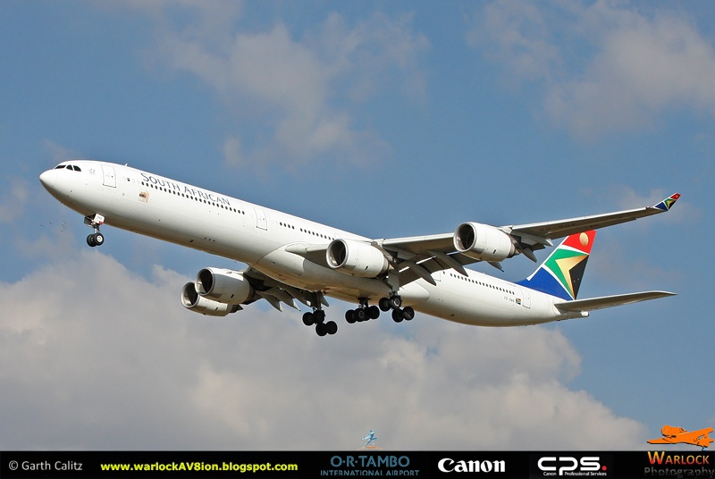 A340-600 SAA by Warlock Av8ion