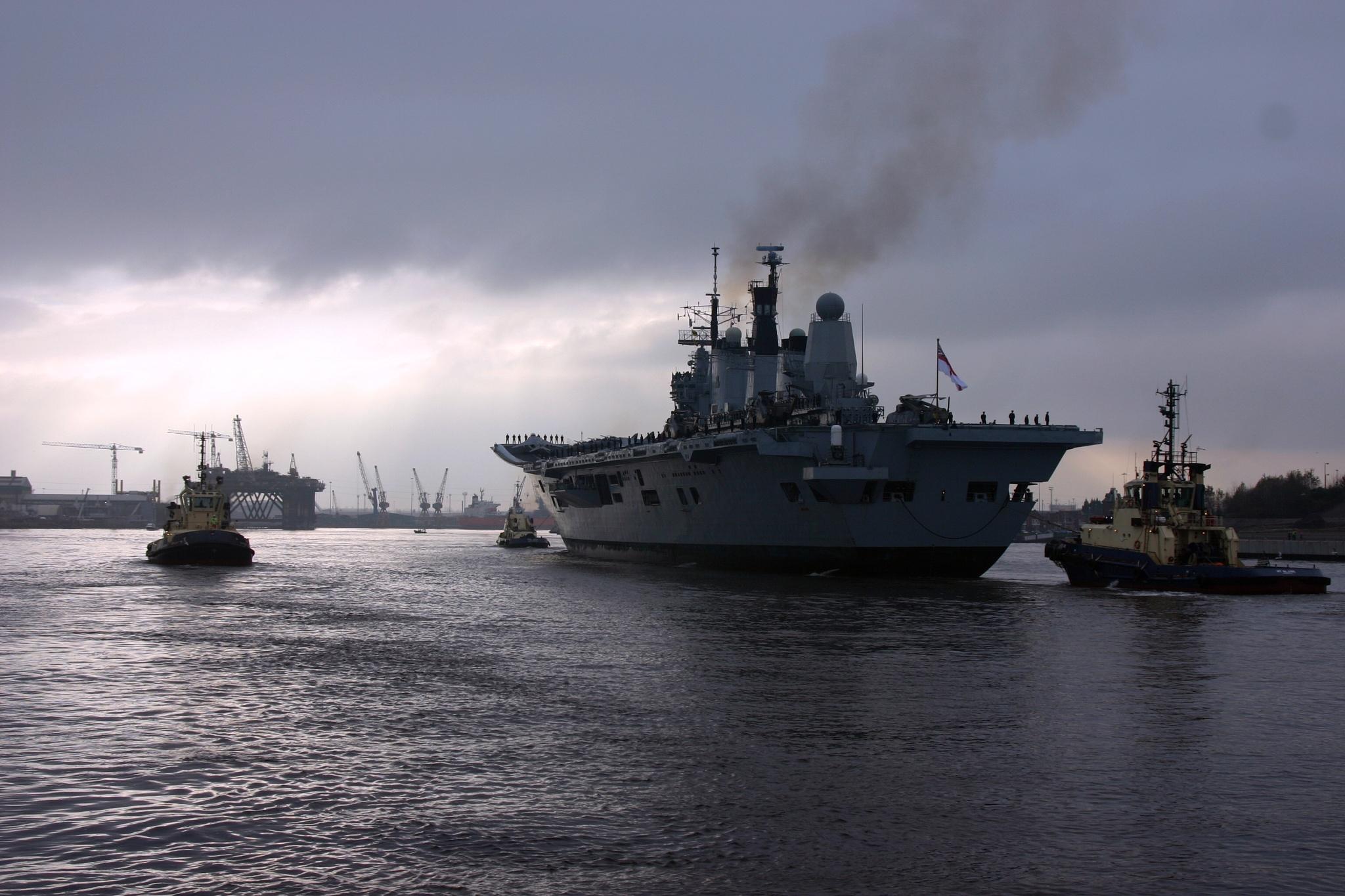 HMS Ark Royal by bunts45