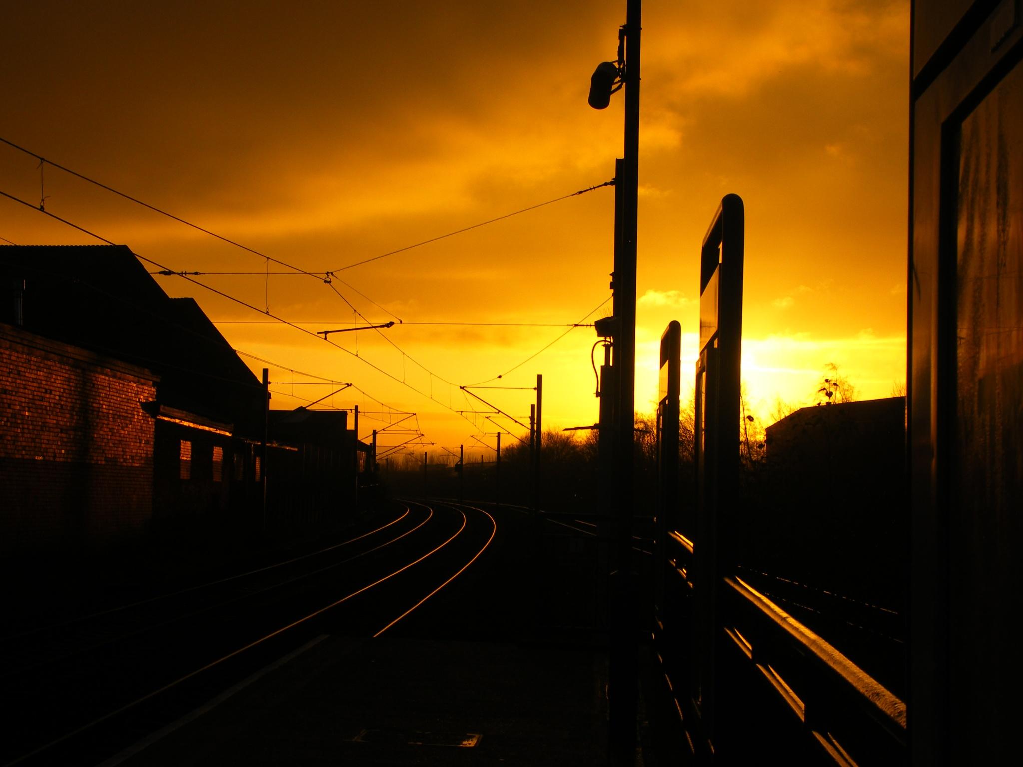 Metro Sunset by bunts45
