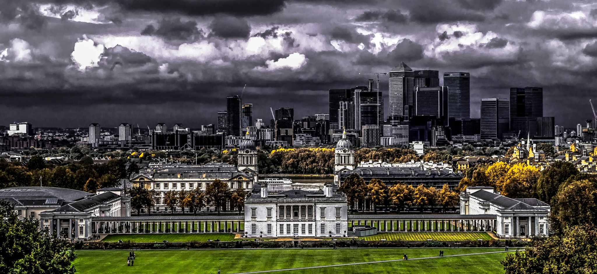 Canary Wharf´s skyscrappers by GabeszPhoto