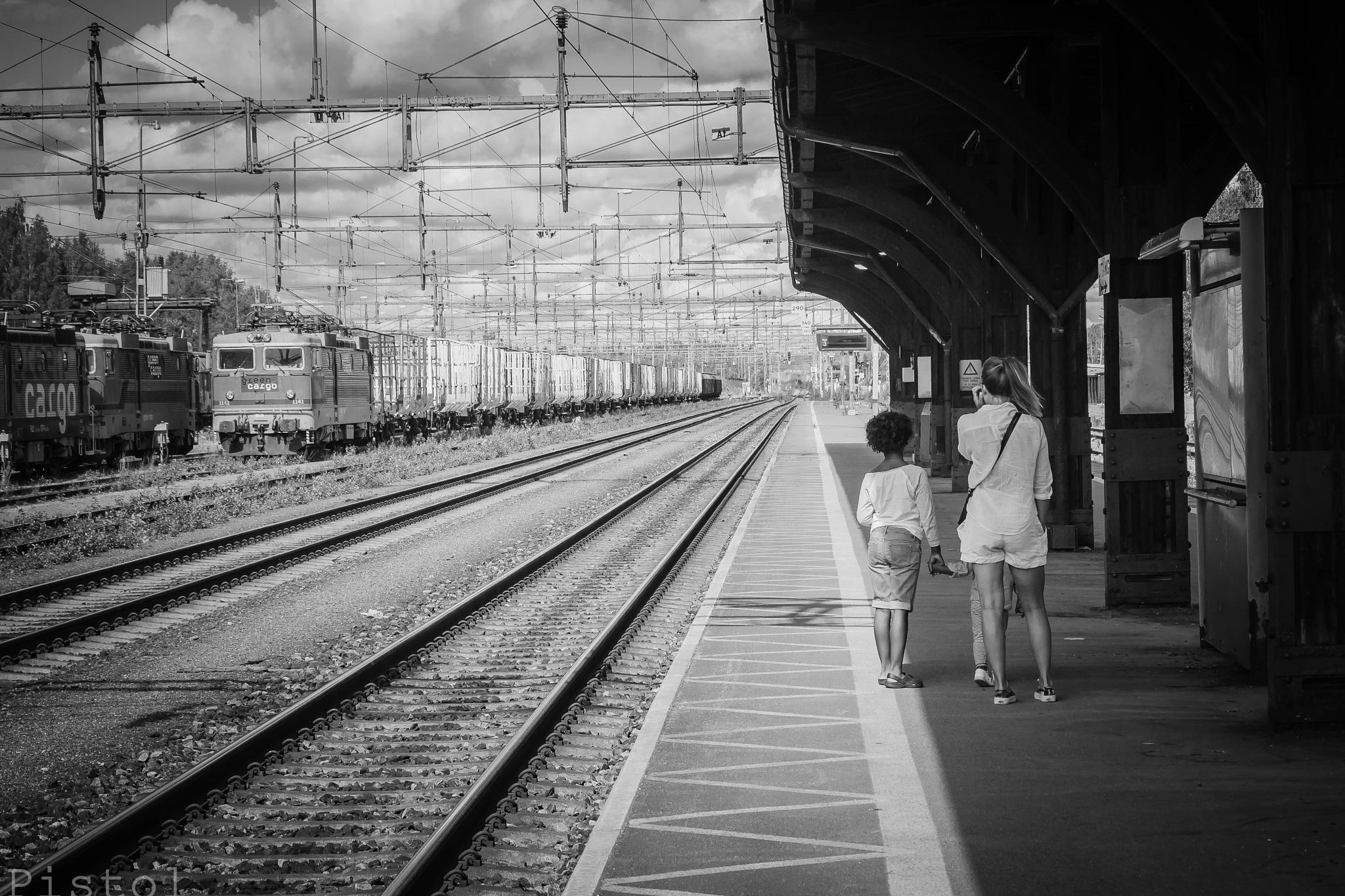 The Waiting  by Sheku Conteh