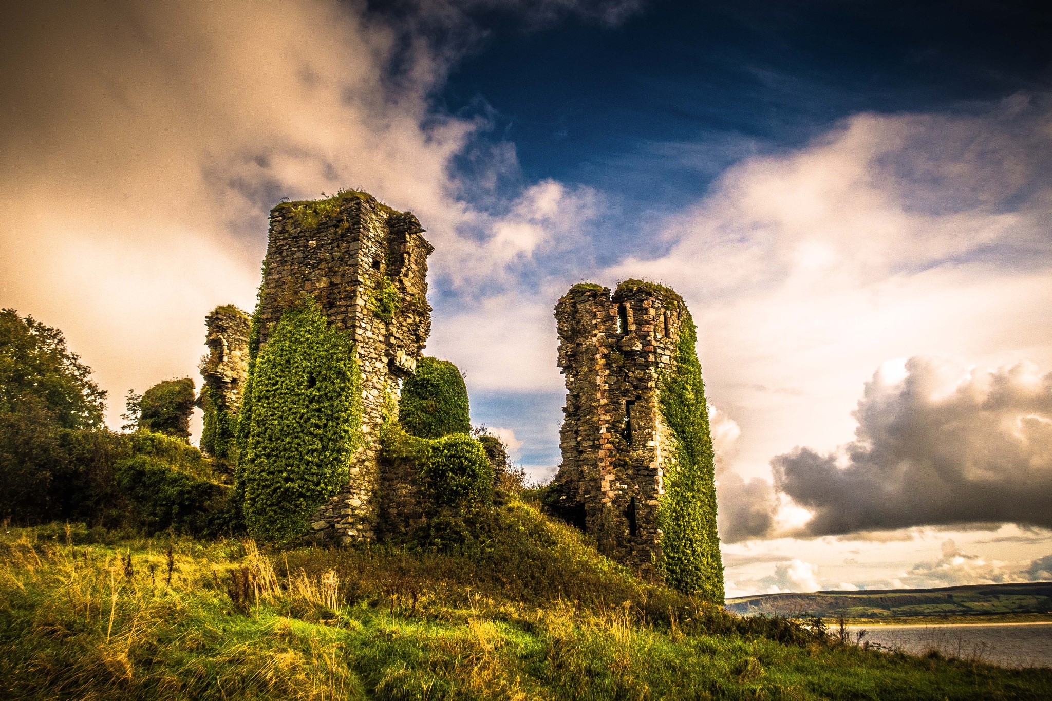 Greencastle  Co.Donegal, Ireland. by billymcwilliams