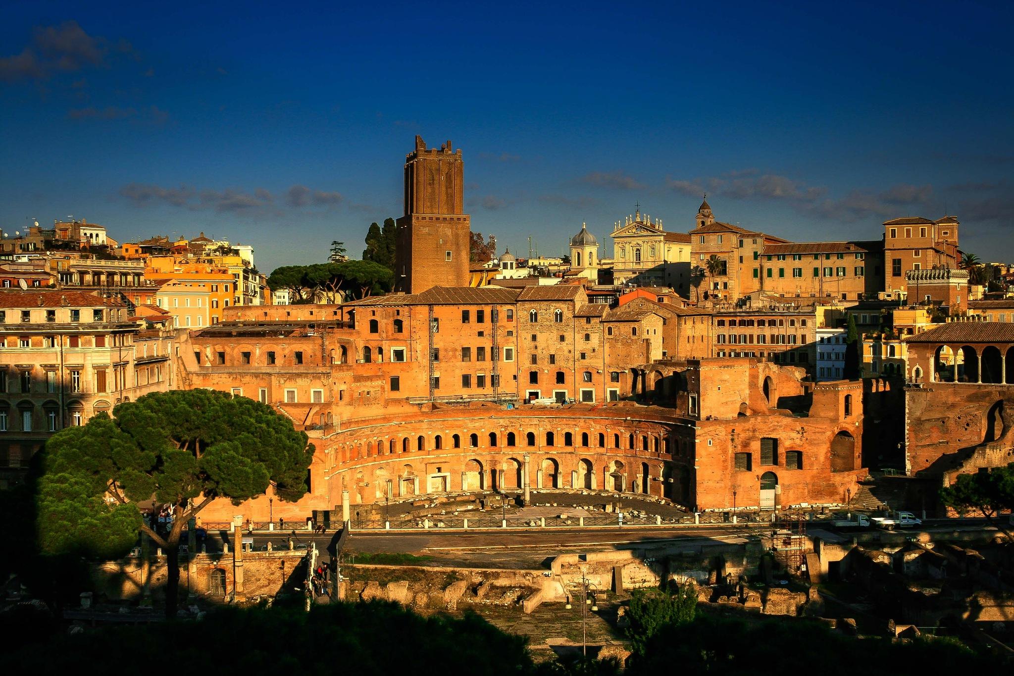 Trajan's Market. by billymcwilliams