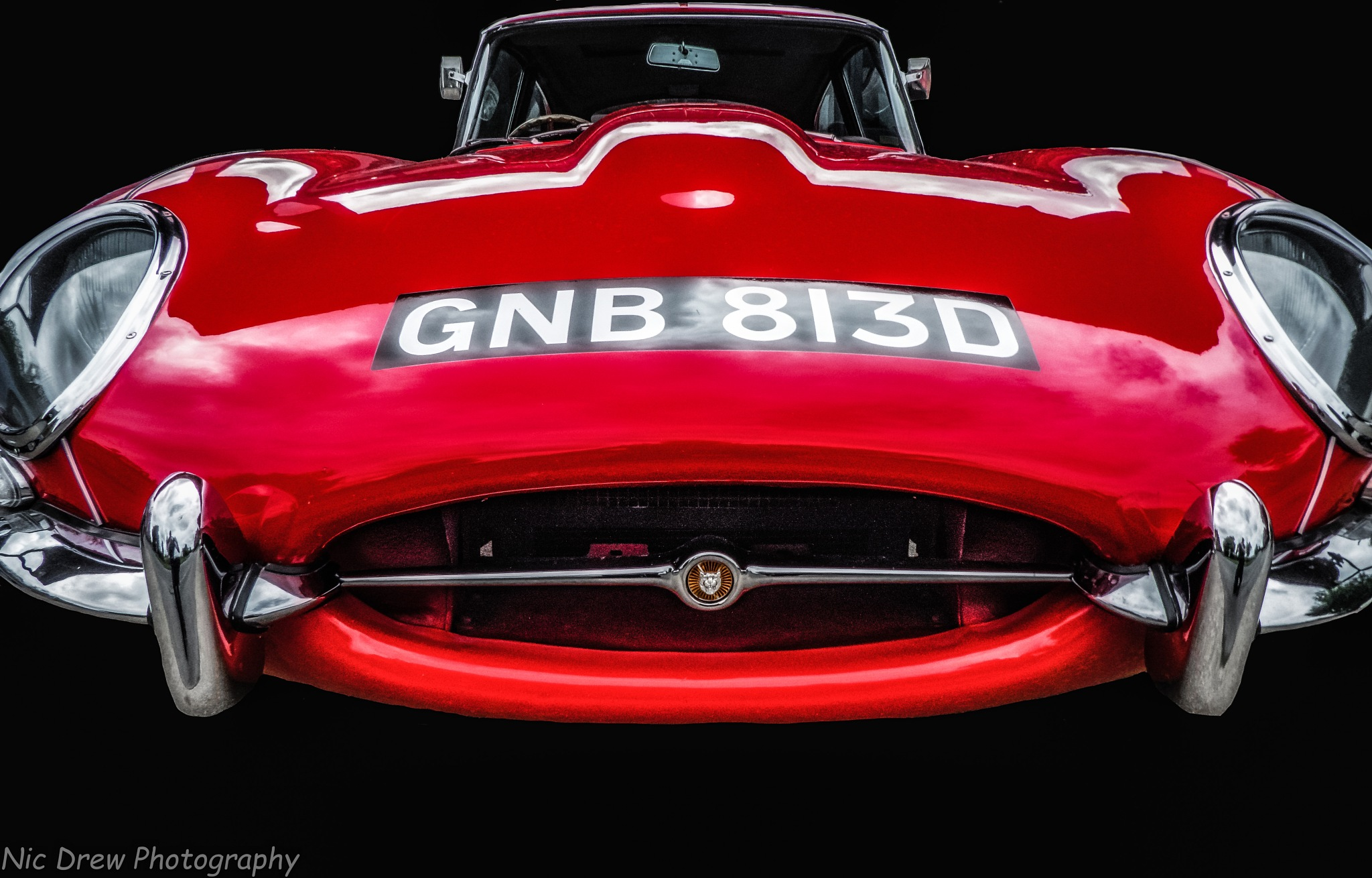 E-Type Jag by Nic Drew