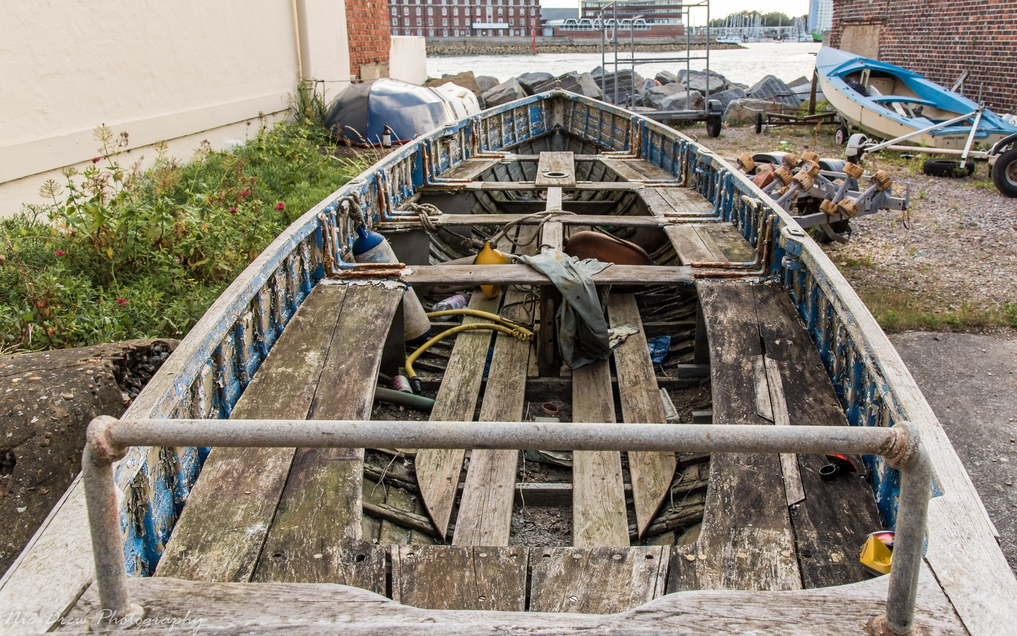 The boatyard by Nic Drew