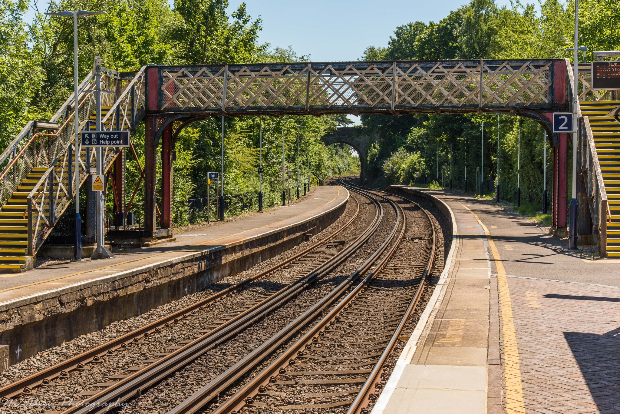 Bursledon station by Nic Drew