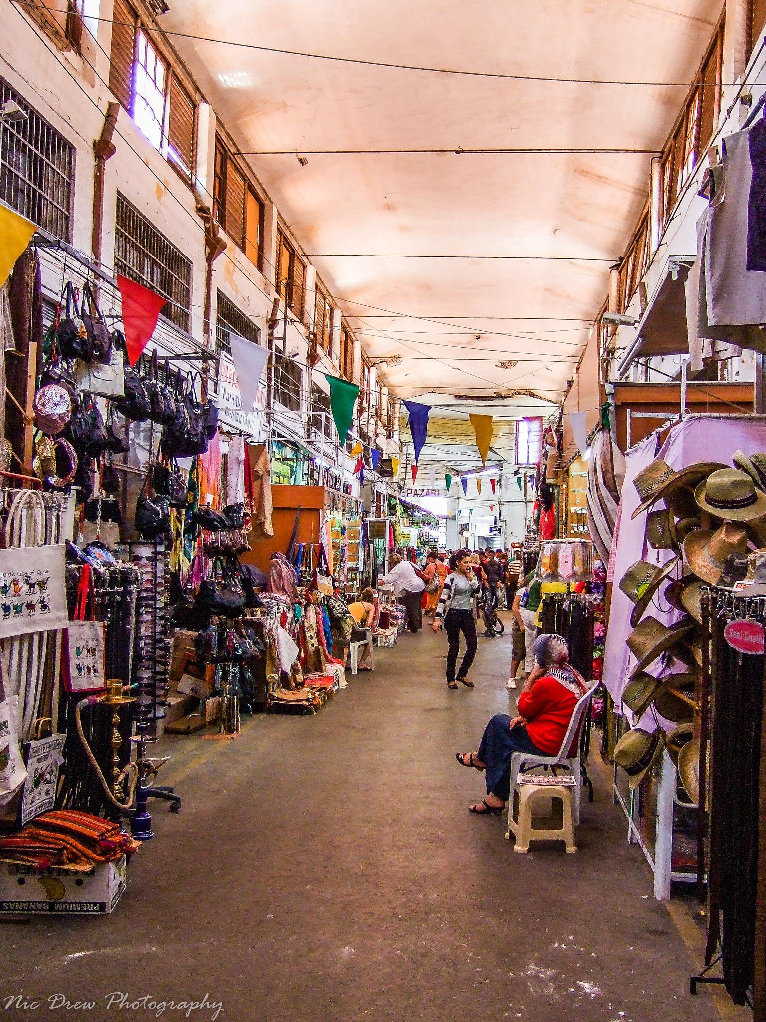 Indoor market by Nic Drew