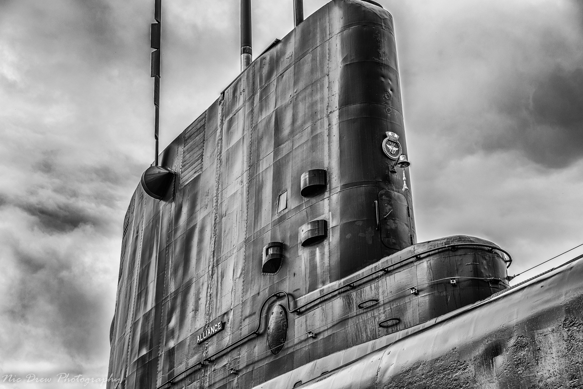 Submarine conning tower by Nic Drew