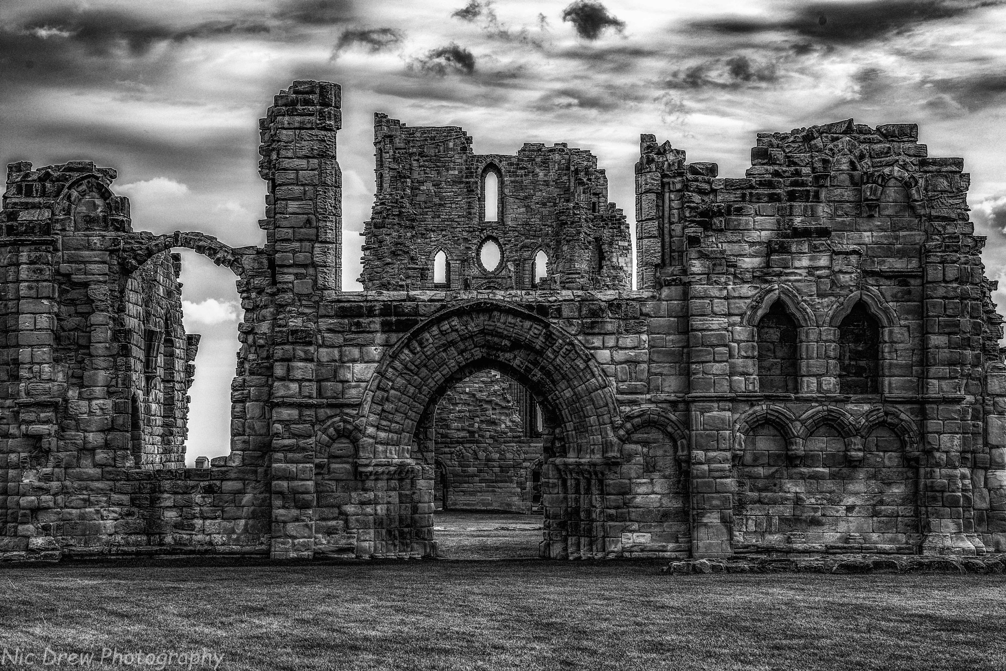 Abbey ruins by Nic Drew