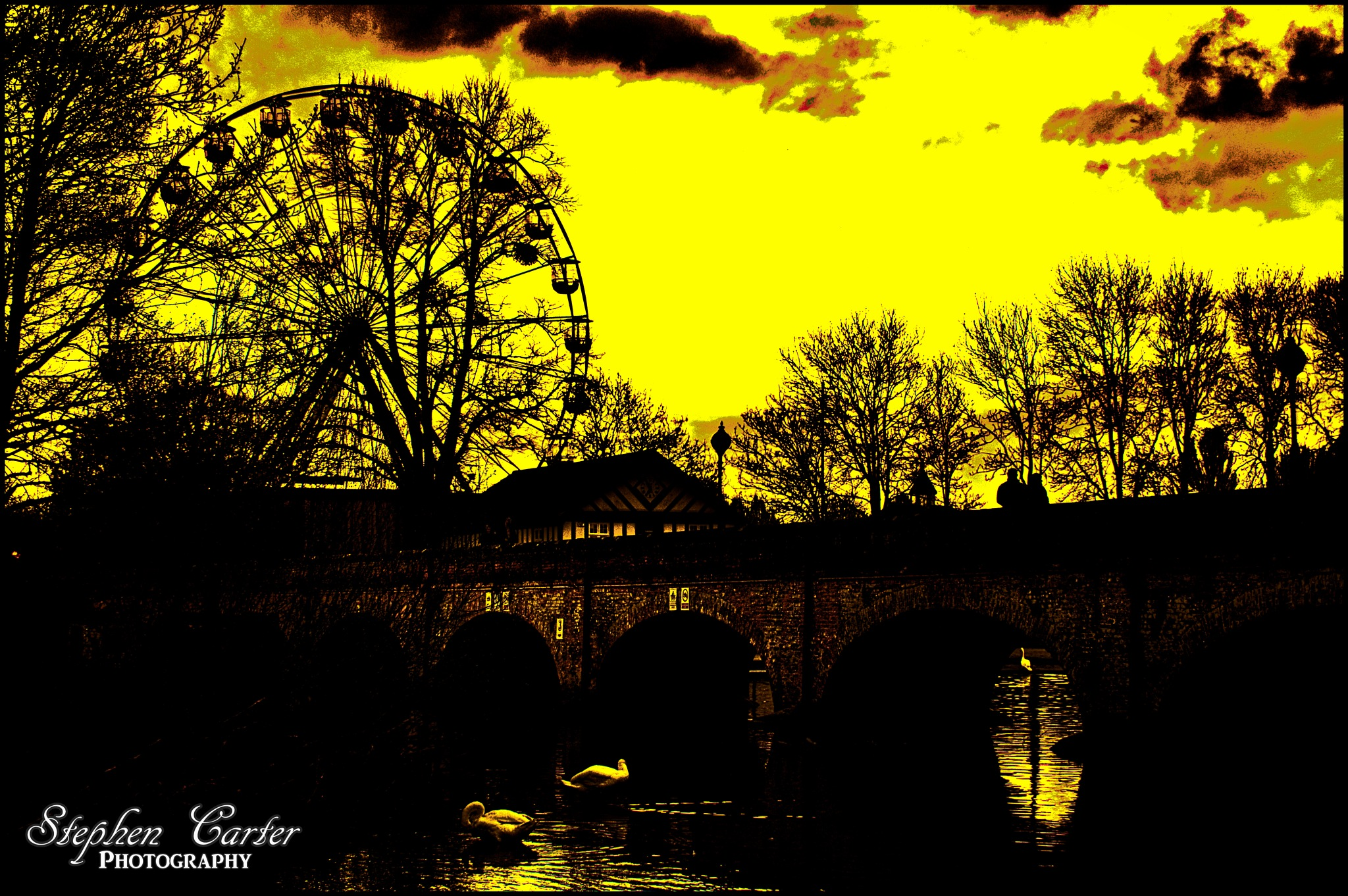 Stratford Silhouette by Stephen Carter Photography