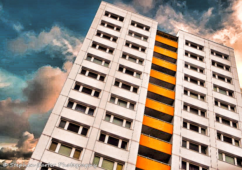 Berlin Apartment Block by Stephen Carter Photography